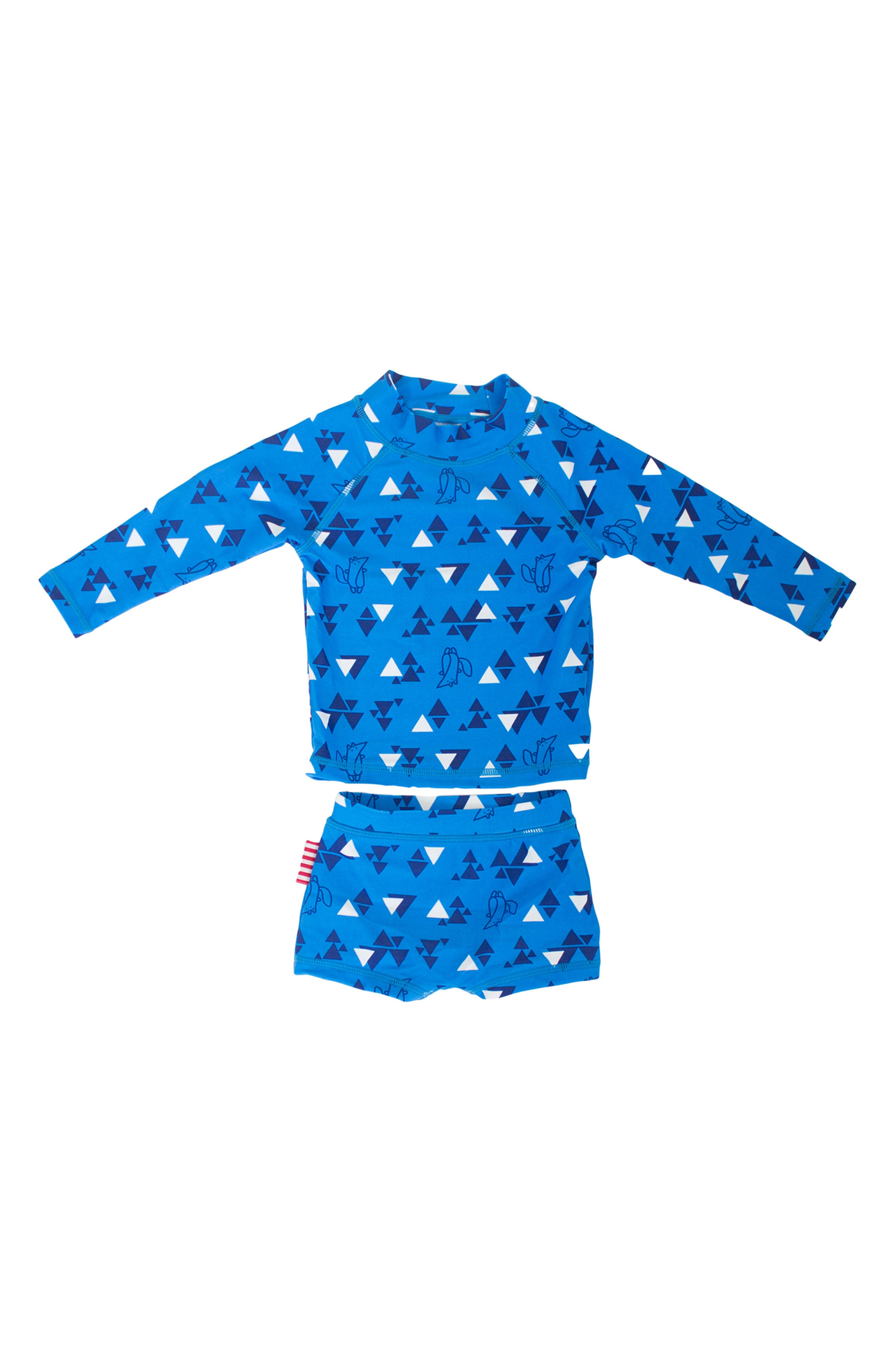 SOOKIbaby Nordic Two-Piece Rashguard Swimsuit (Baby Boys)