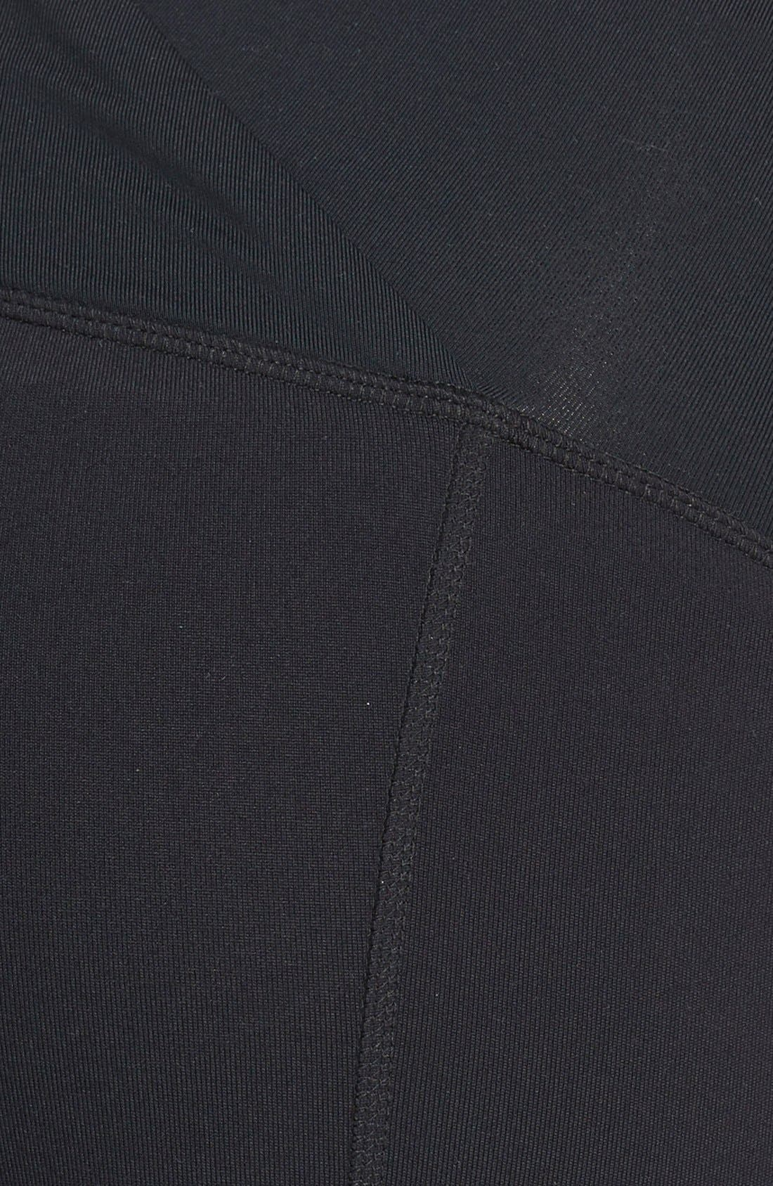 Alternate Image 3  - Ingrid & Isabel® Active Maternity Capri Pants with Crossover Panel