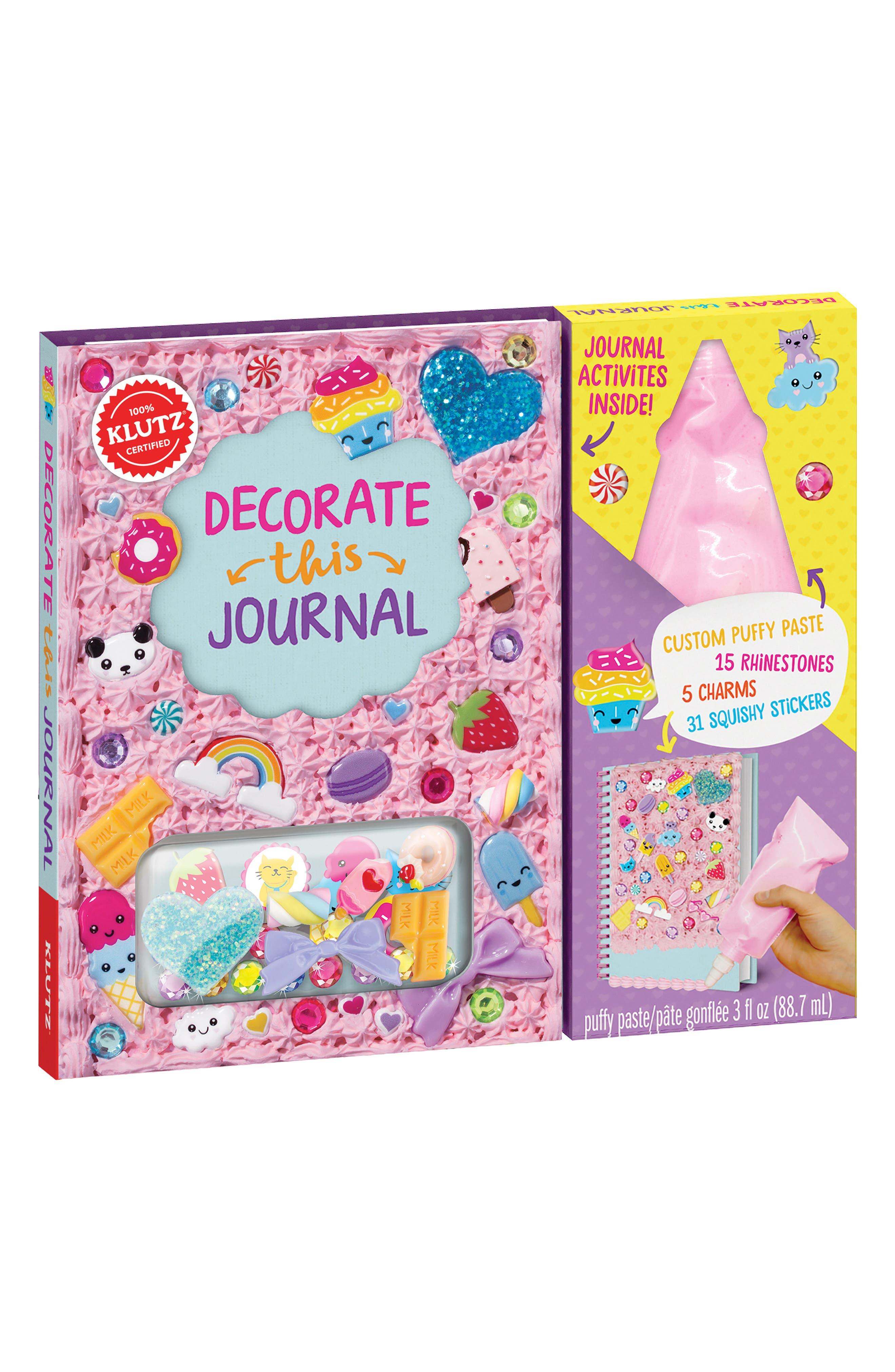 Klutz Decorate This Journal Activity & Journaling Kit