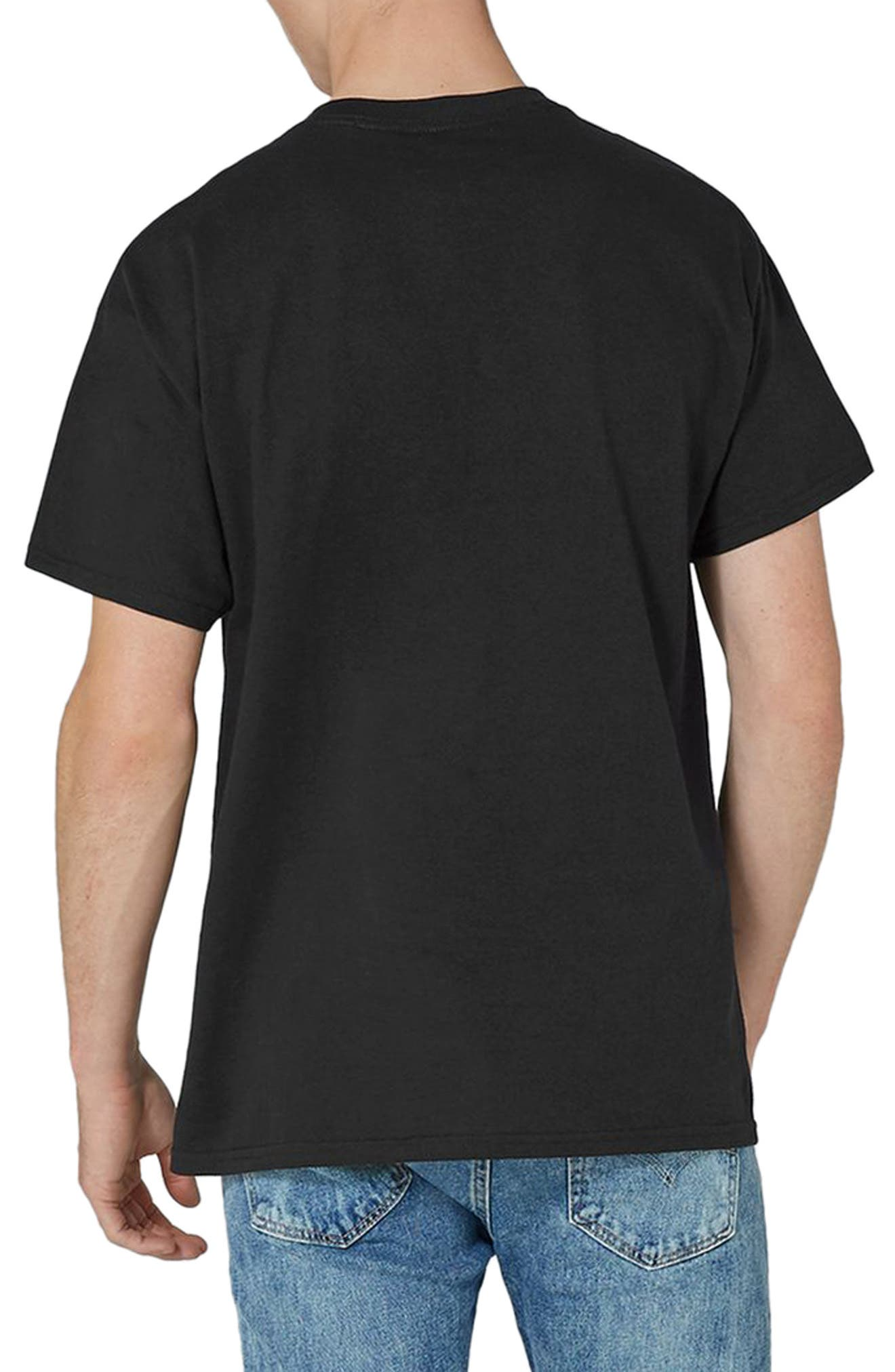 David Bowie Graphic T-Shirt,                             Alternate thumbnail 2, color,                             Black Multi