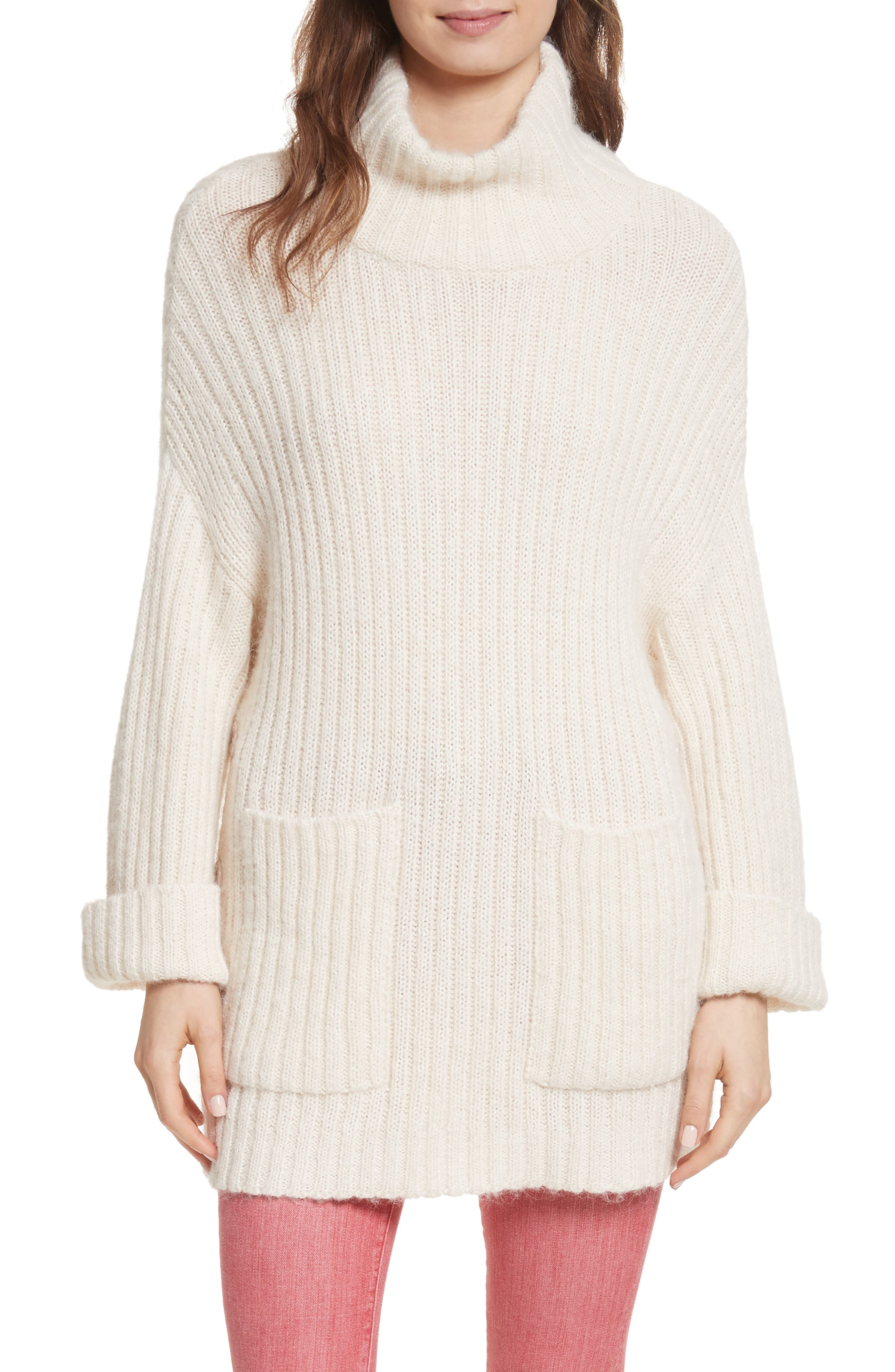 Alternate Image 1 Selected - Joie Banain Turtleneck Sweater
