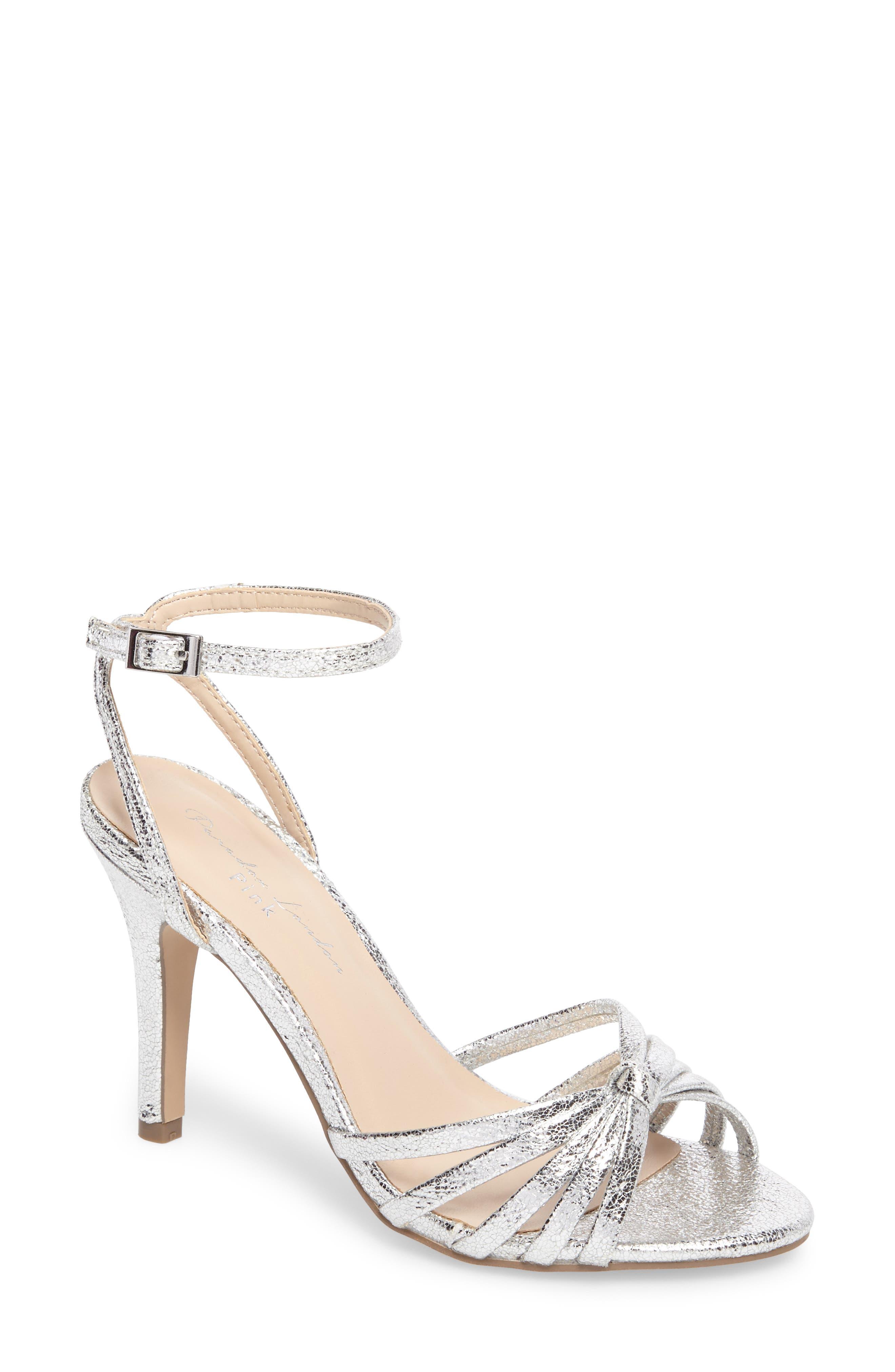 Mady Sandal,                             Main thumbnail 1, color,                             Silver Glitter