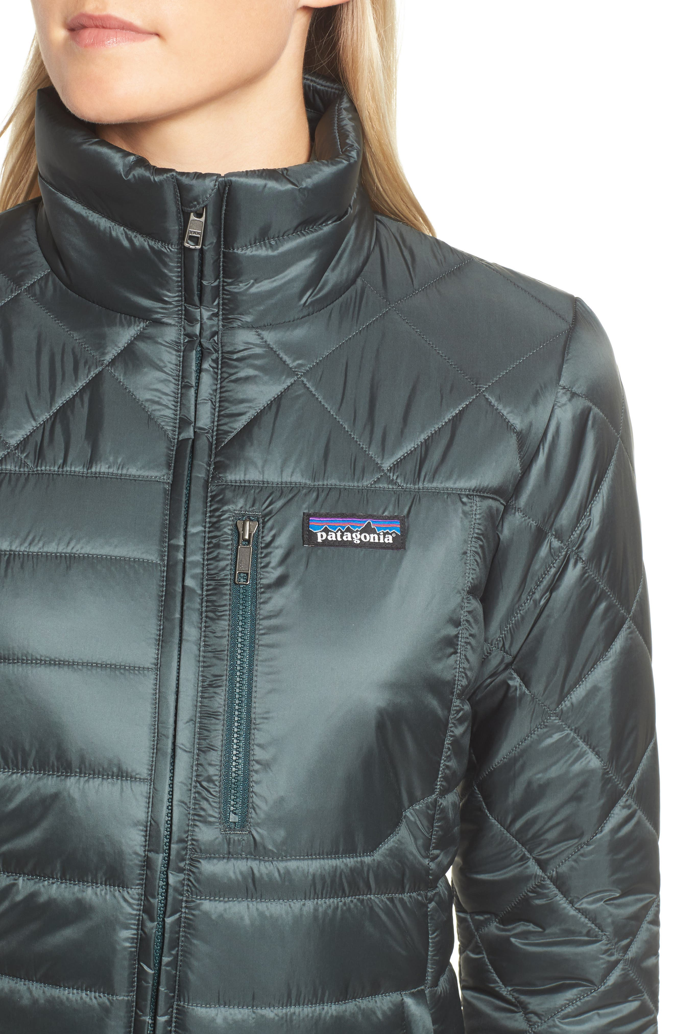 Alternate Image 4  - Patagonia Radalie Water Repellent Thermogreen-Insulated Jacket