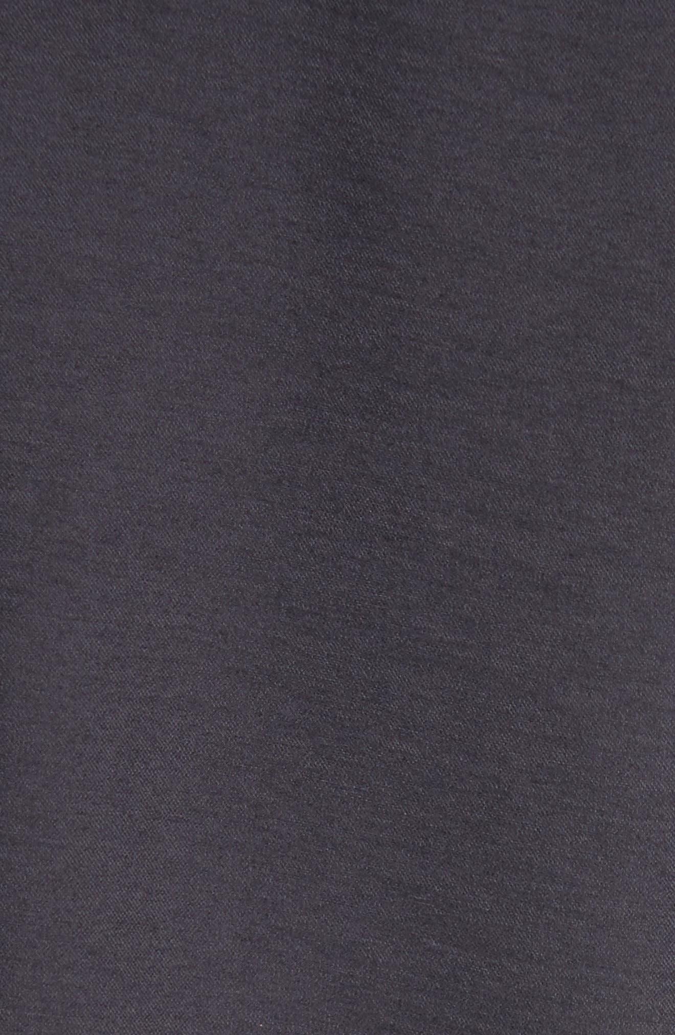 Hooded Tunic,                             Alternate thumbnail 5, color,                             Black
