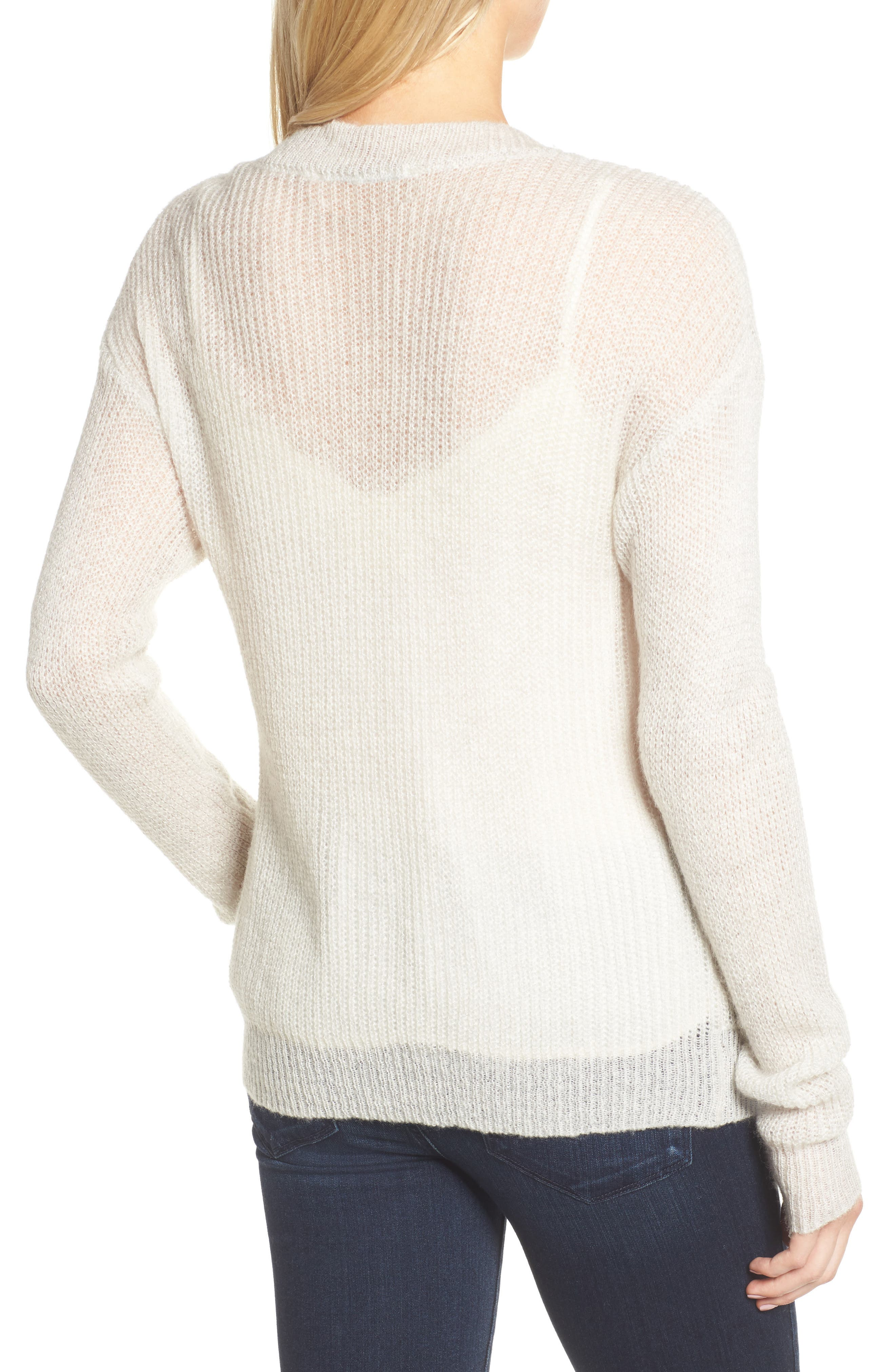 Alternate Image 2  - cupcakes and cashmere Sternberg V-Neck Sweater