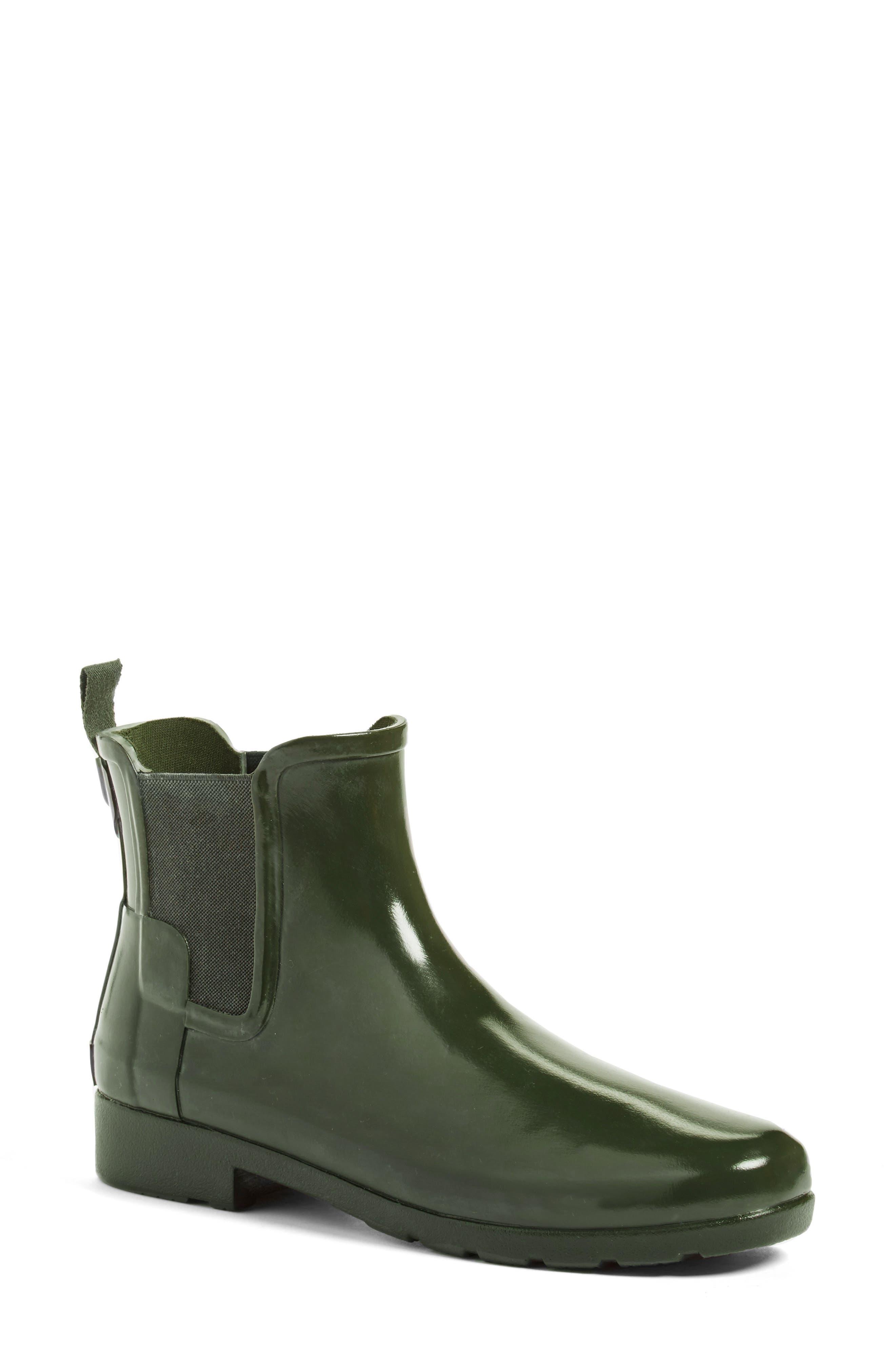 Main Image - Hunter 'Original Refined' Chelsea Rain Boot (Women)