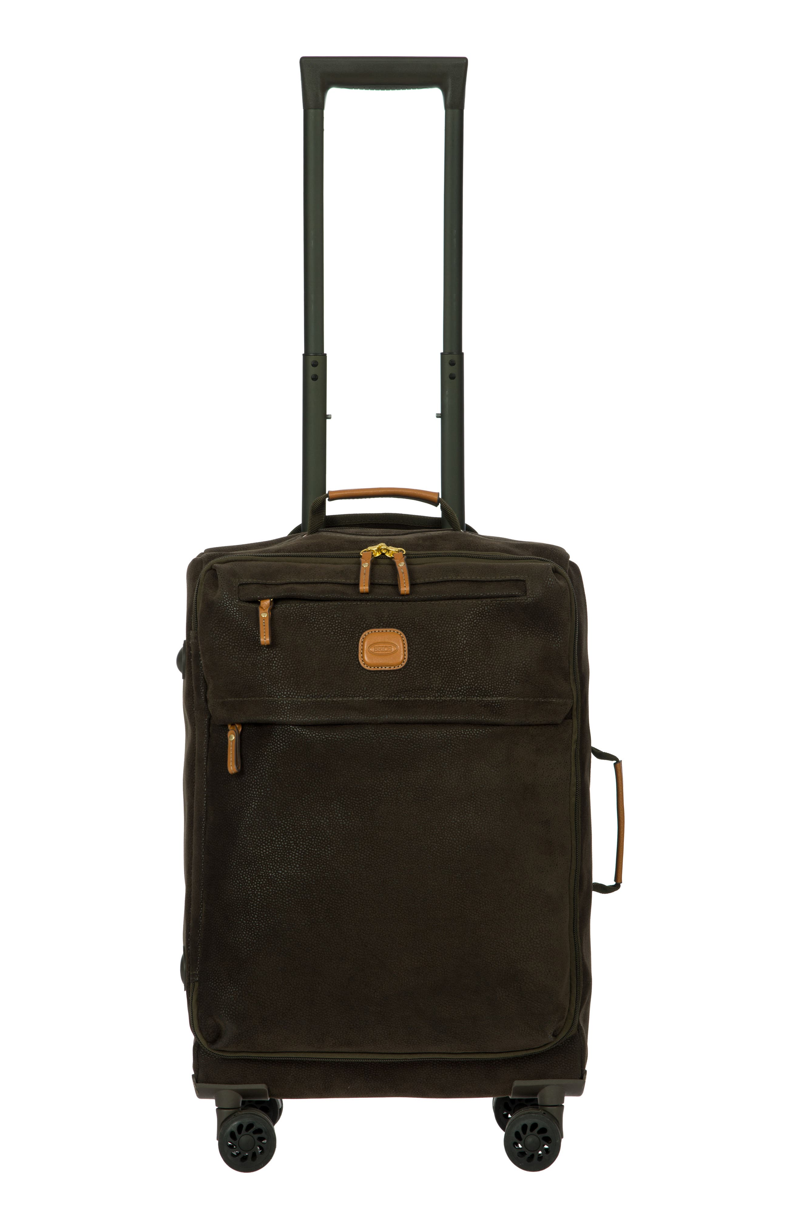 Life Collection Tropea 21-Inch Spinner Carry-On,                         Main,                         color, Olive