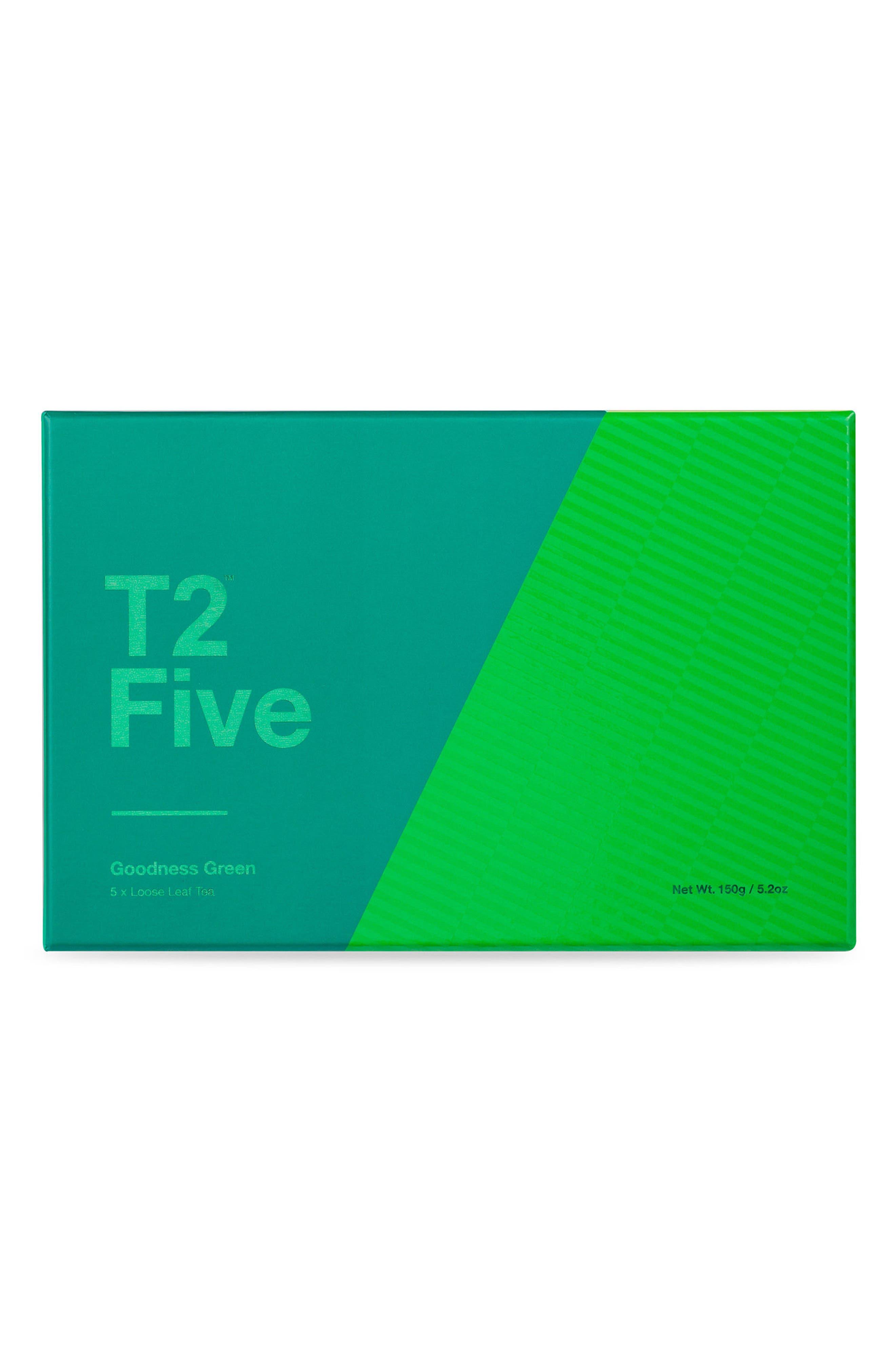 Main Image - T2 Tea Goodness Green Loose Leaf Tea Box Set