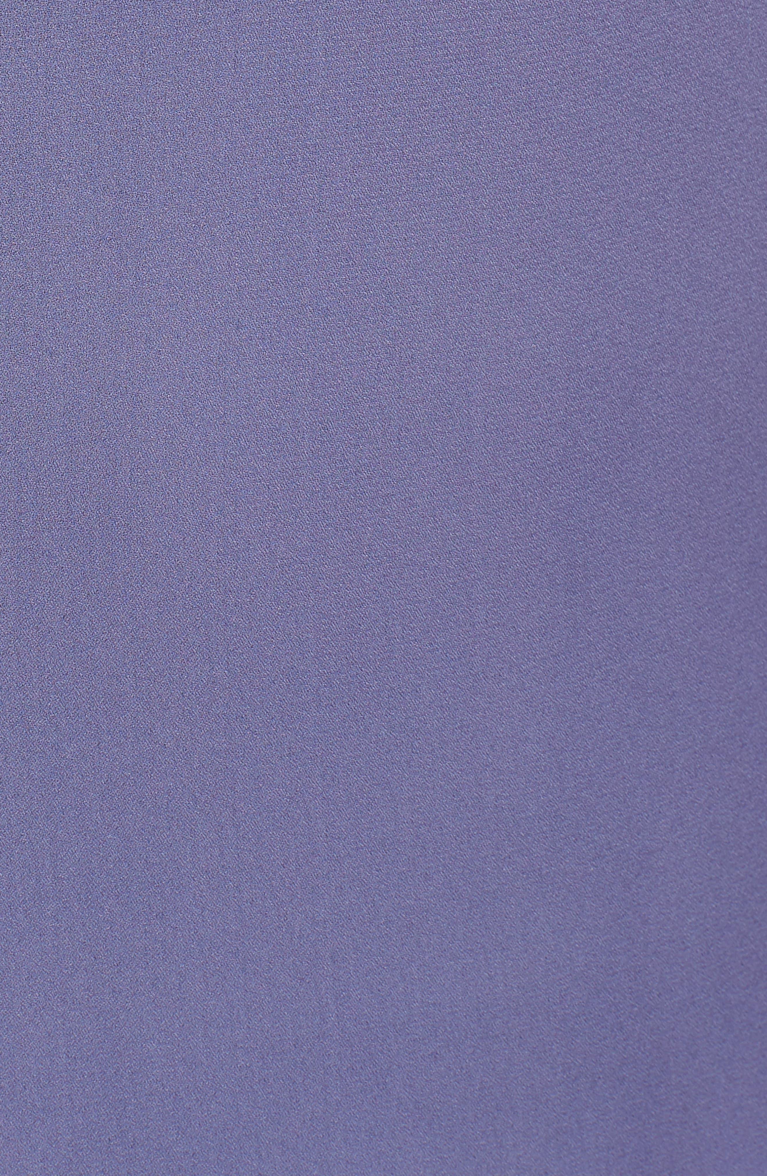 Tie Strap Maxi Dress,                             Alternate thumbnail 5, color,                             Slate