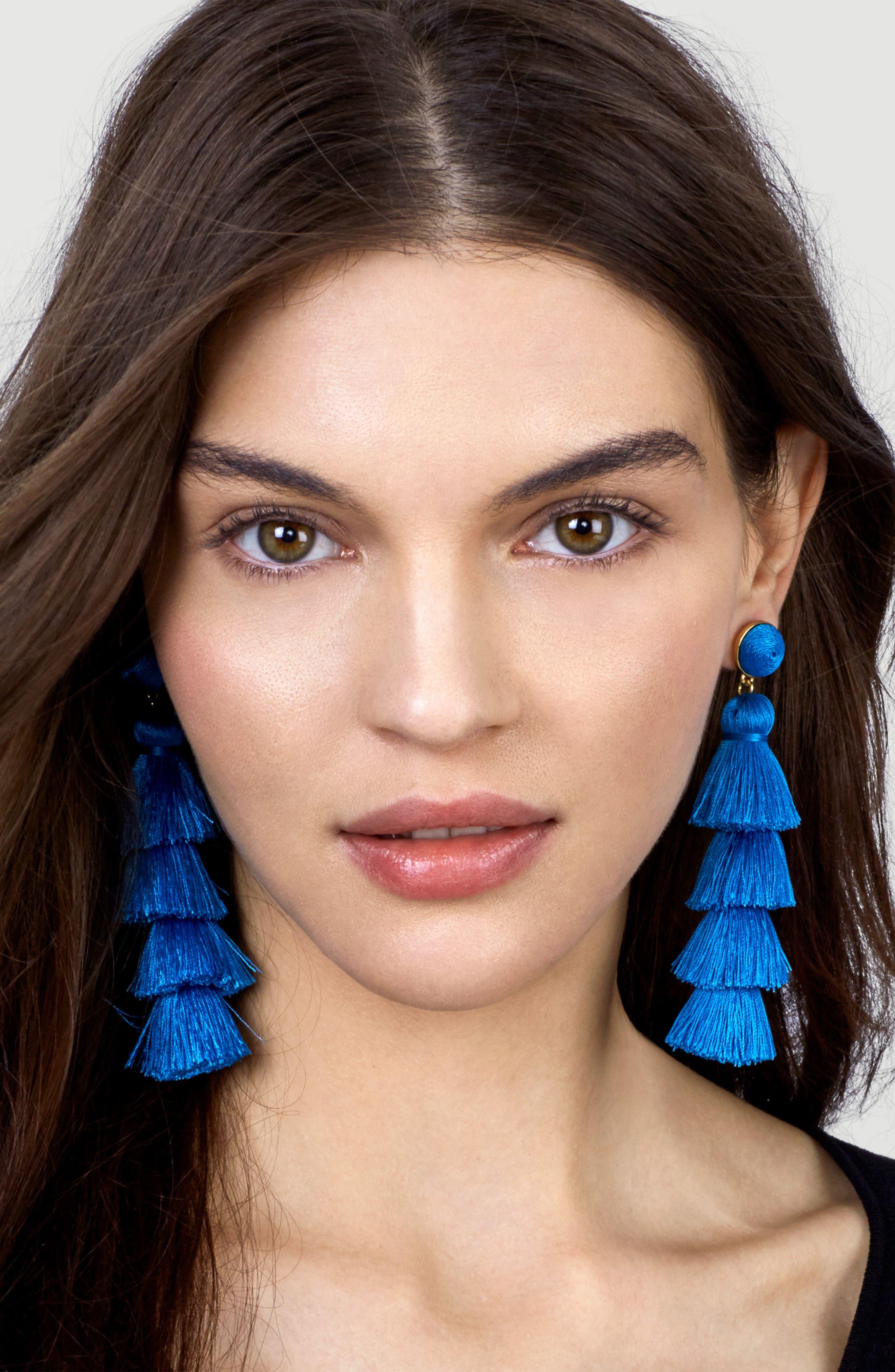 Alternate Image 3  - BaubleBar Gabriela Tassel Fringe Earrings