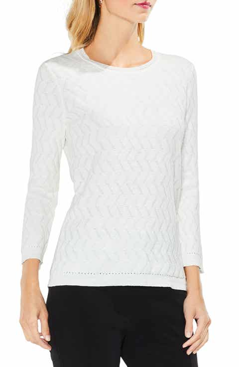 Women's White Cotton Sweaters | Nordstrom