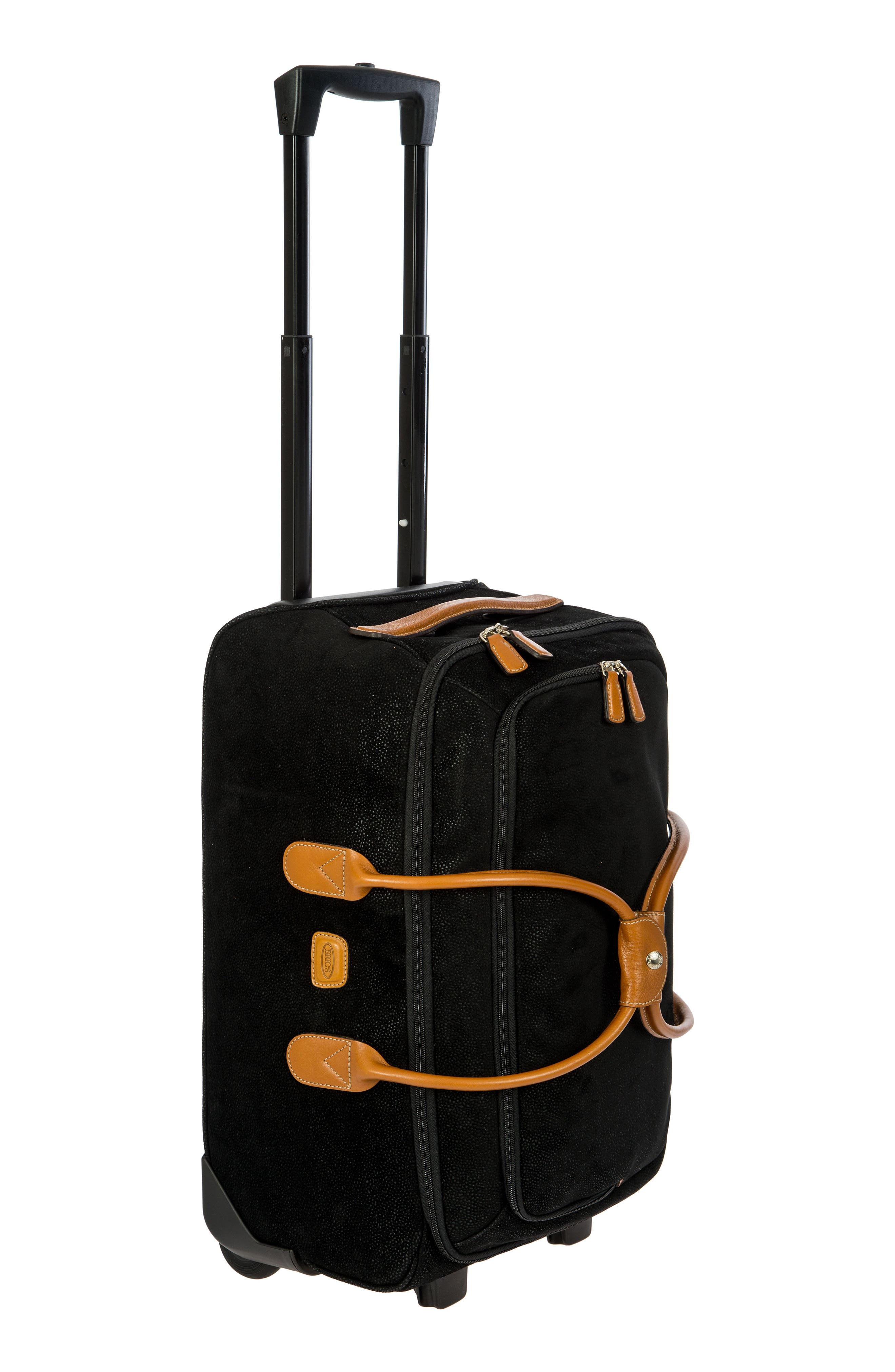 Life Collection 21-Inch Rolling Duffel Bag,                             Main thumbnail 1, color,                             Black