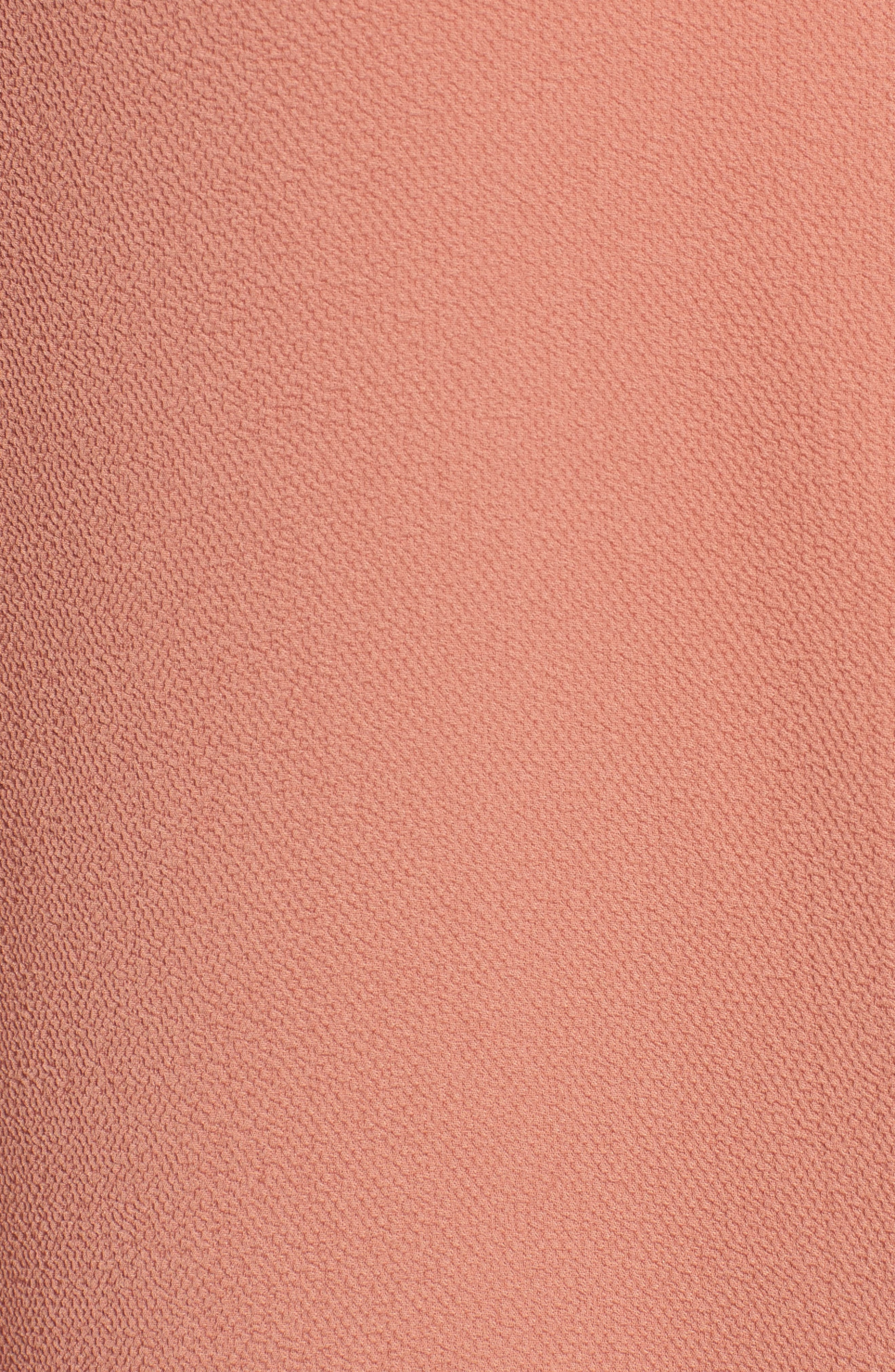 Snap Front Tunic,                             Alternate thumbnail 5, color,                             Coral Cedar
