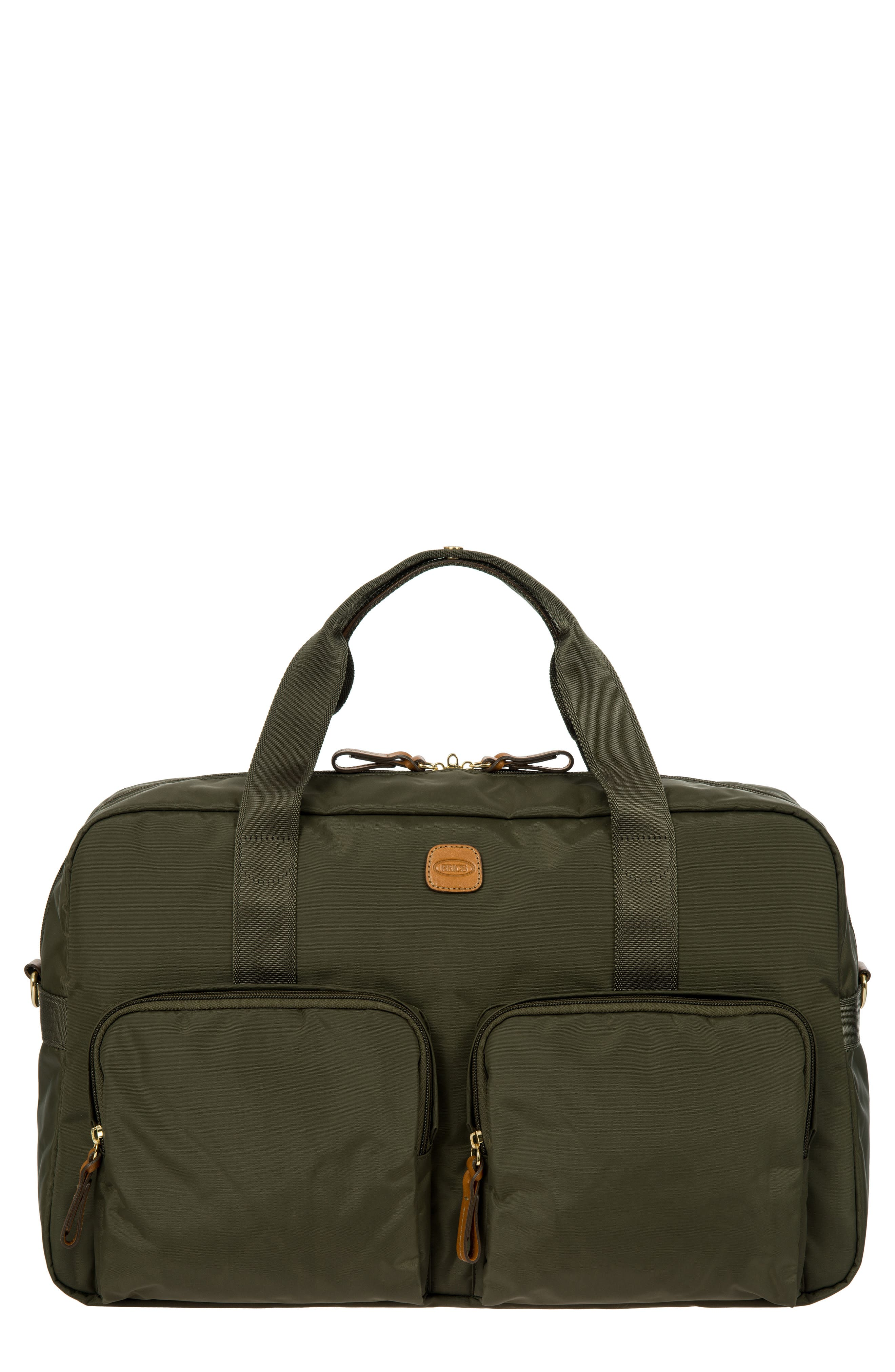 BRIC'S X-Bag Boarding 18-Inch Duffel Bag - Green in Olive