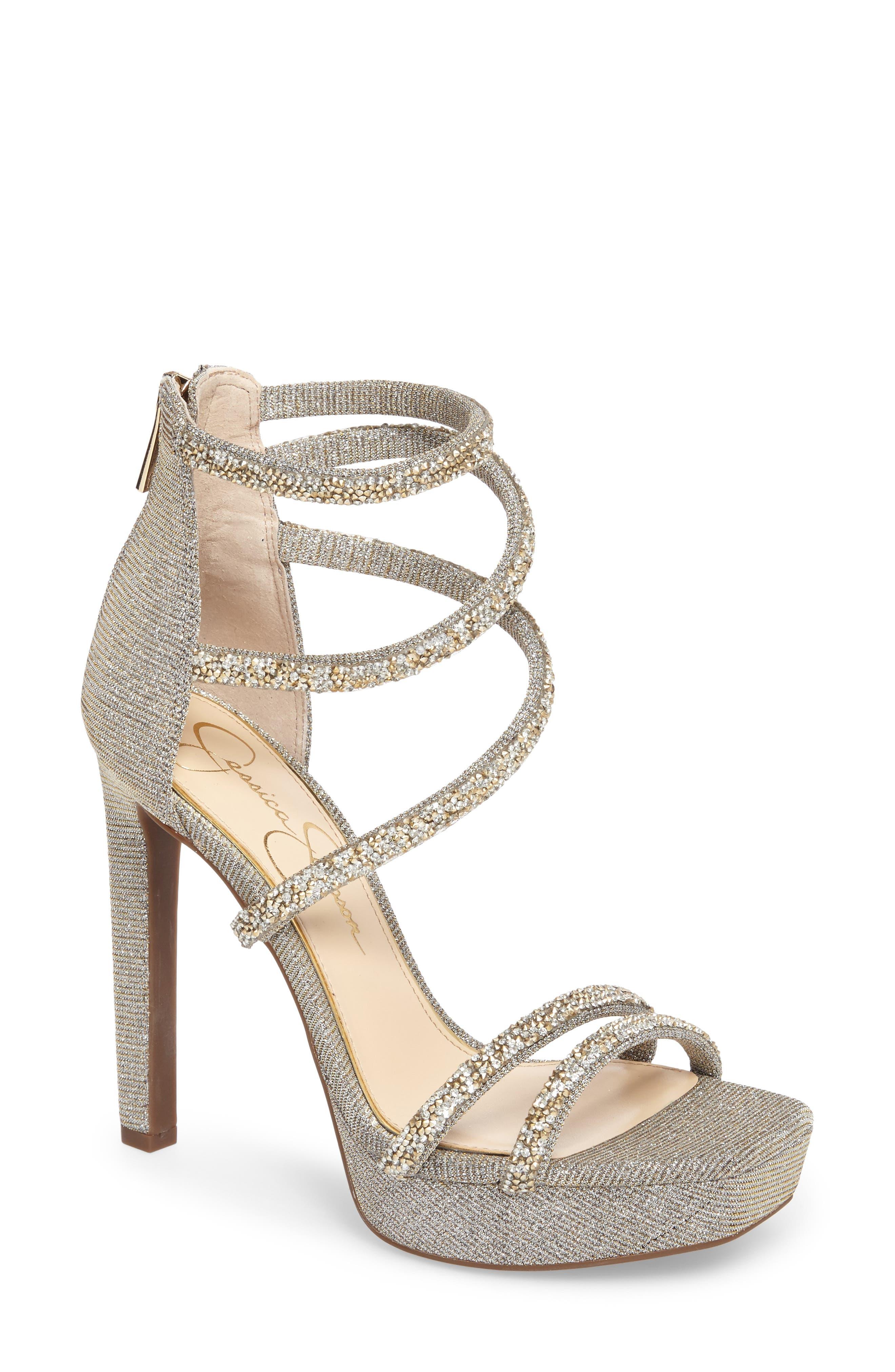 Jessica Beyonah Strappy Platform Sandal (Women)