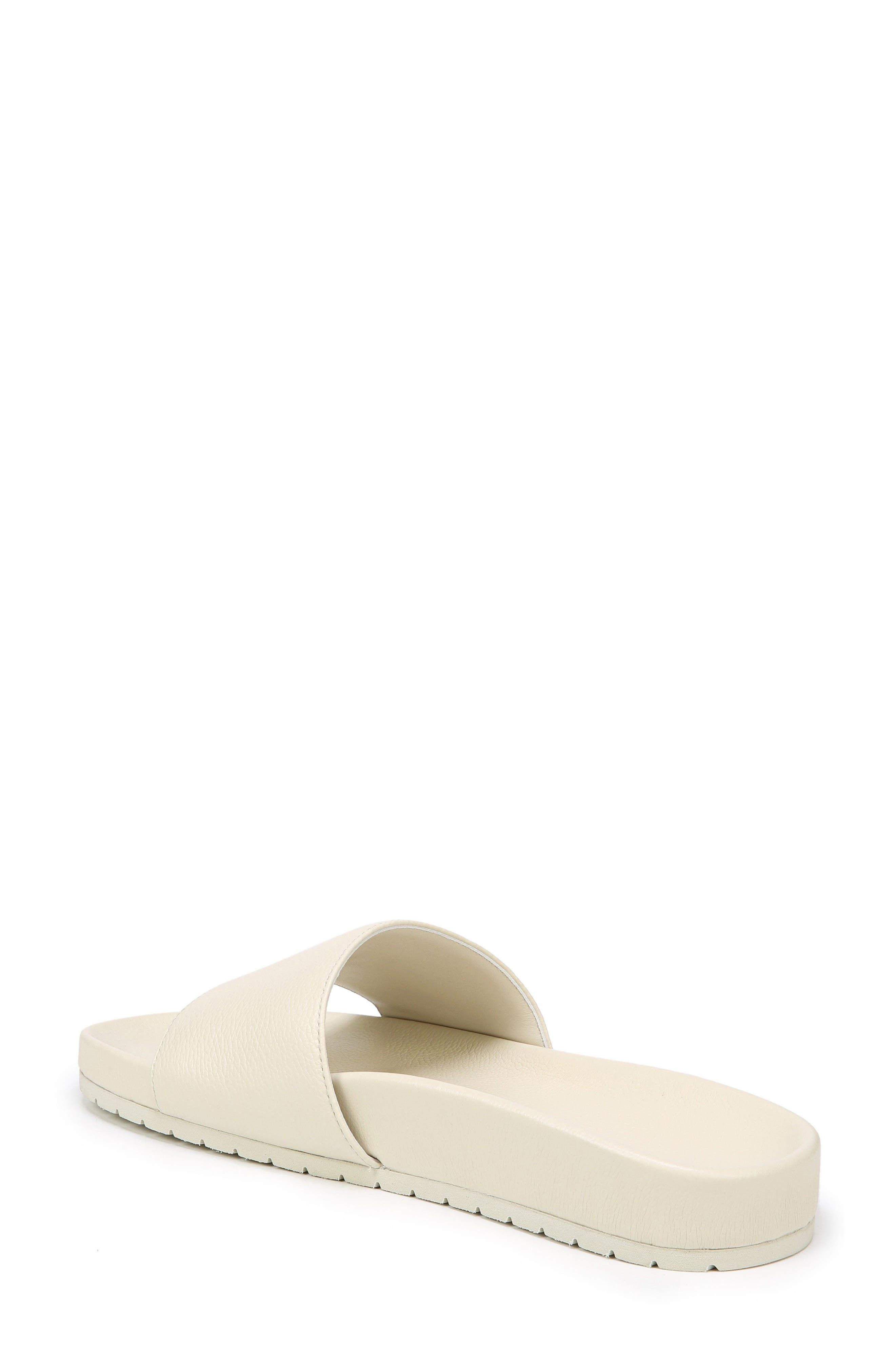 Gavin Slide Sandal,                             Alternate thumbnail 3, color,                             Ecru