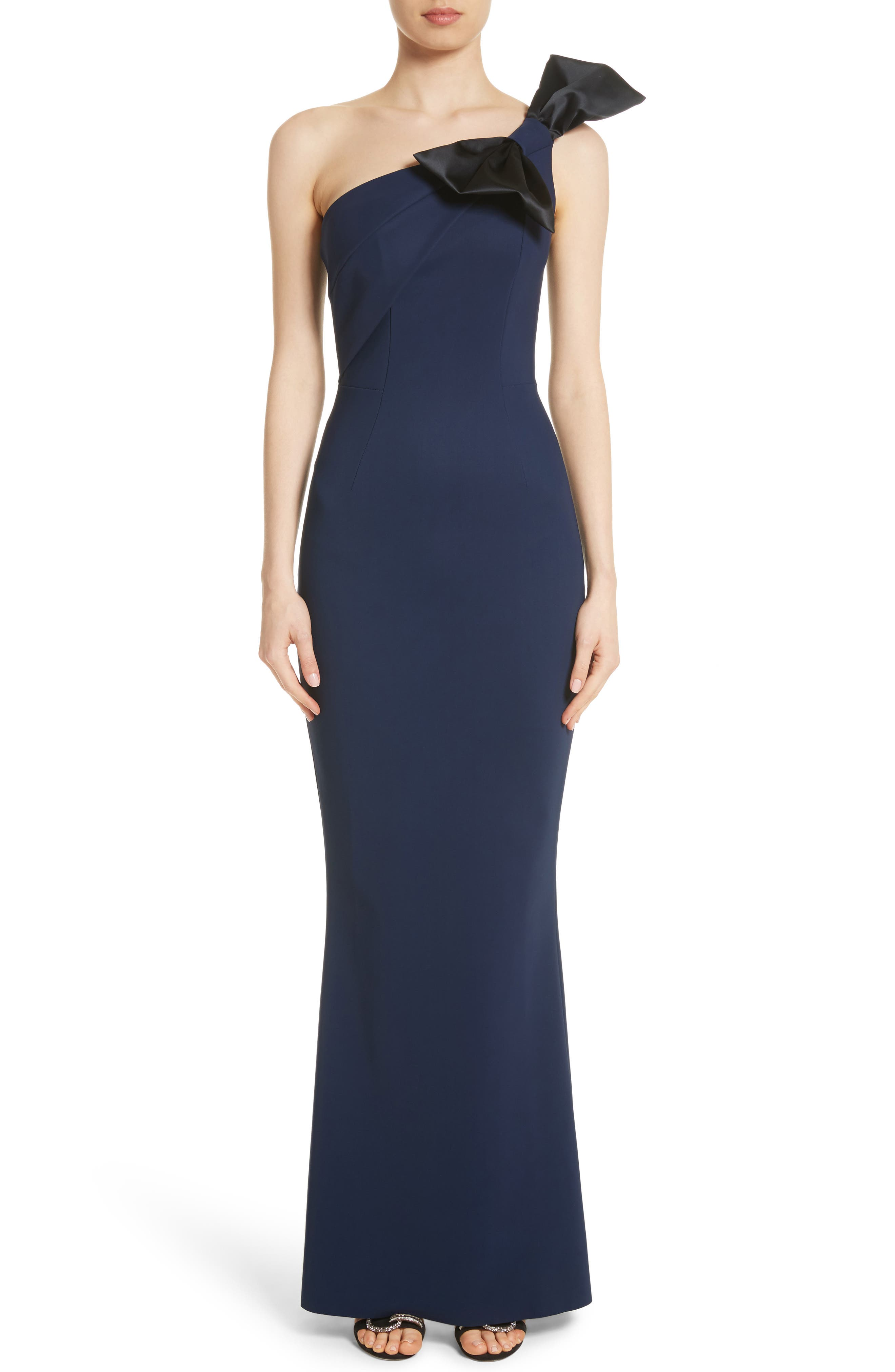 Chiara Boni La Petite Robe Jasmine One Shoulder Gown
