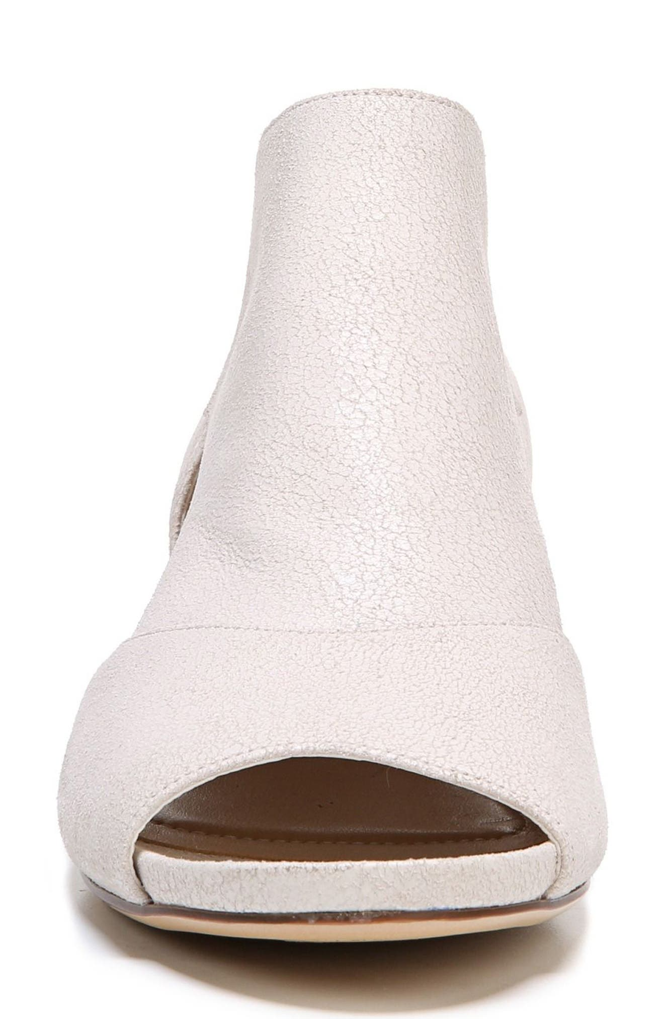 Alternate Image 4  - Naturalizer Greyson Open Toe Bootie (Women)