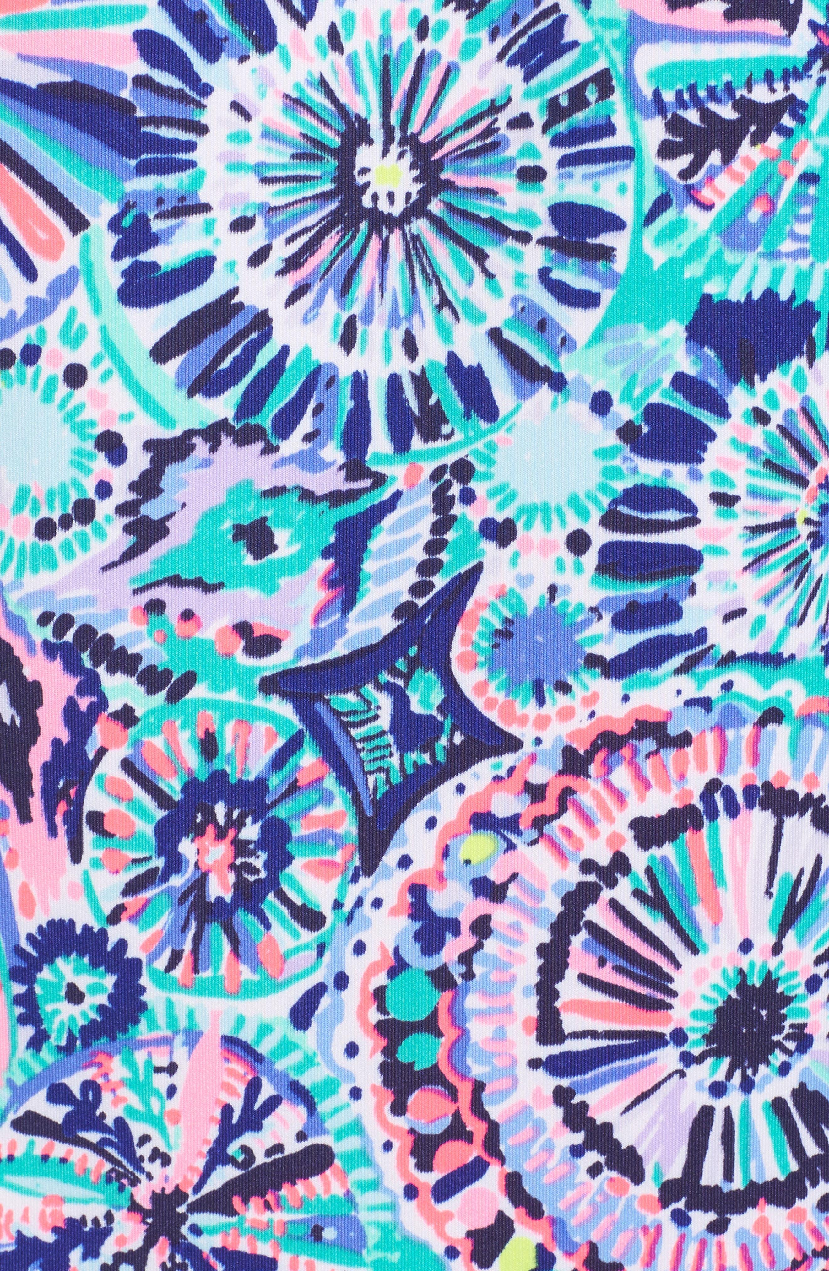 Opal Sheath Dress,                             Alternate thumbnail 5, color,                             Multi The Swim