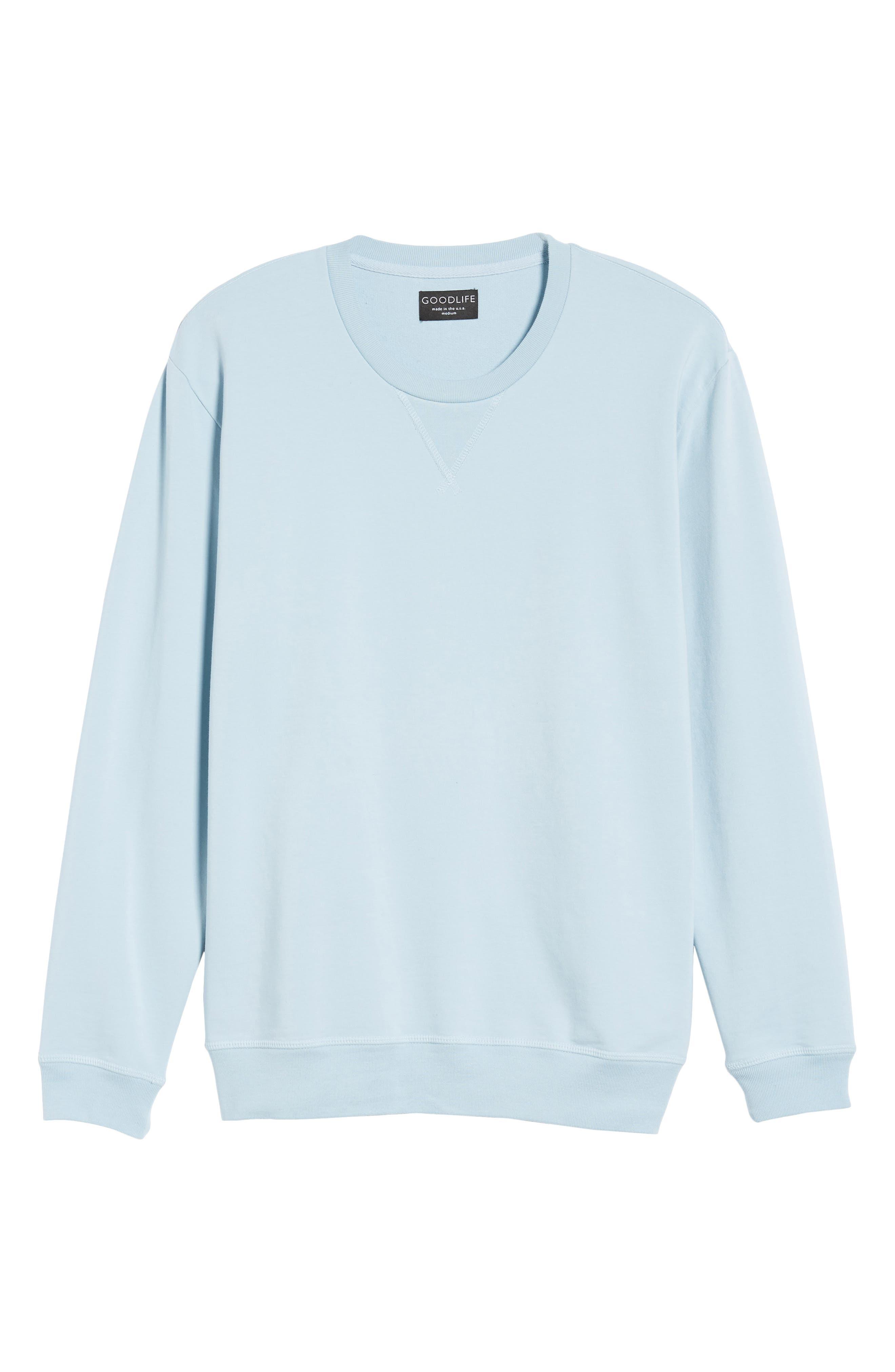 Alternate Image 6  - Goodlife Slim Fit Crewneck Sweatshirt
