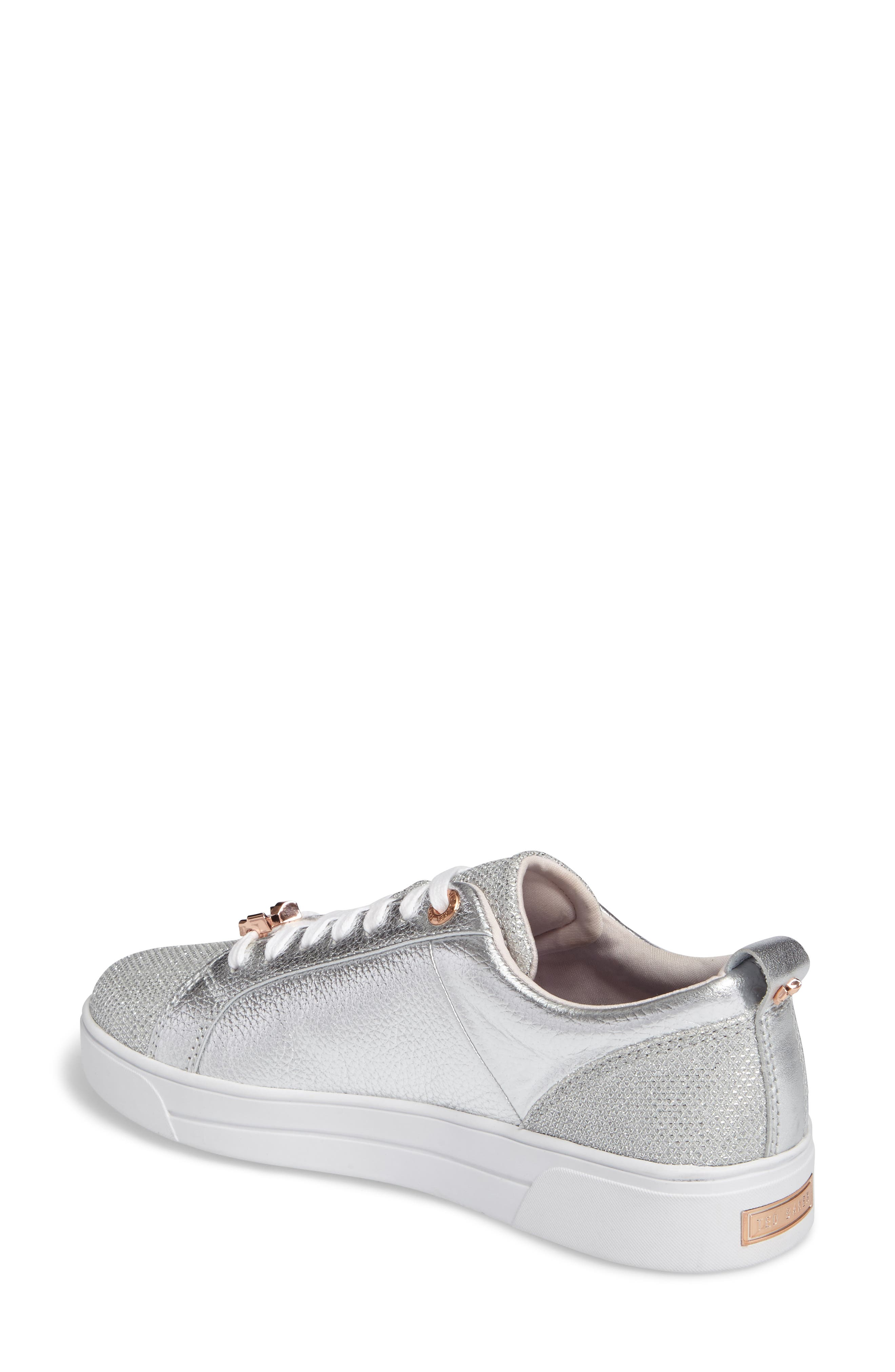 Kulei Sneaker,                             Alternate thumbnail 3, color,                             Silver Leather