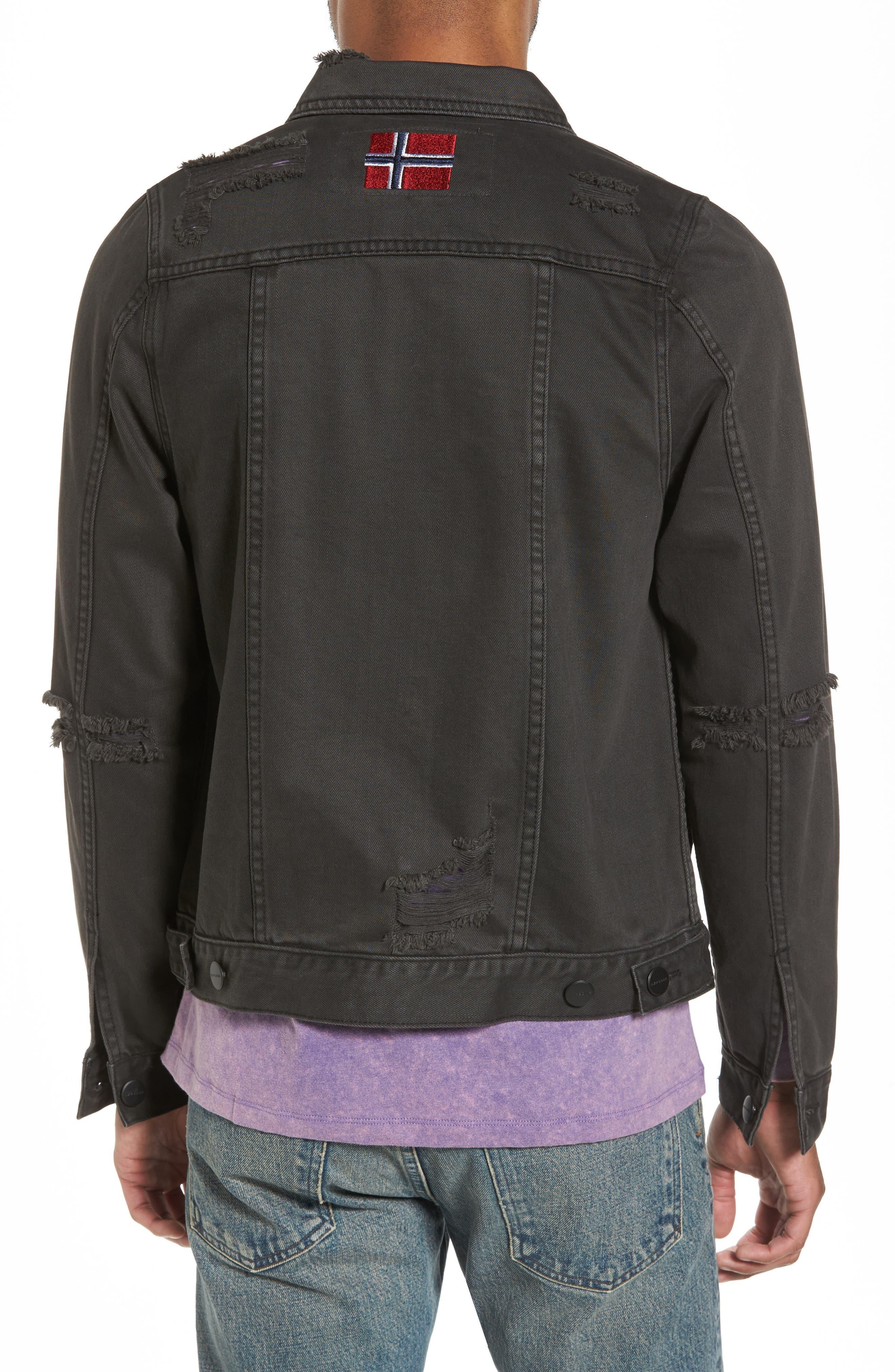Alternate Image 2  - NXP Norge Denim Jacket