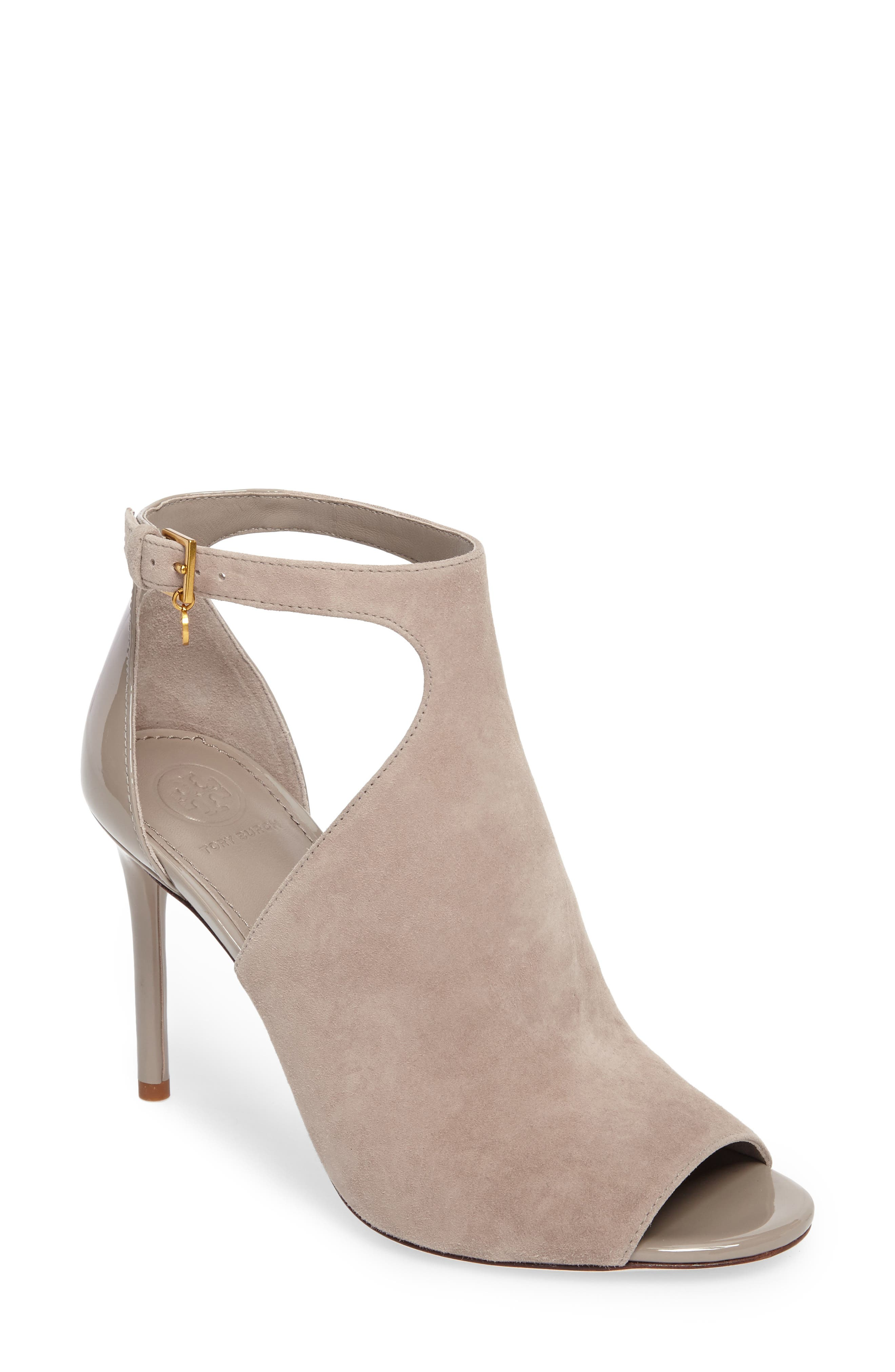Alternate Image 1 Selected - Tory Burch Ashton Open Toe Bootie (Women)