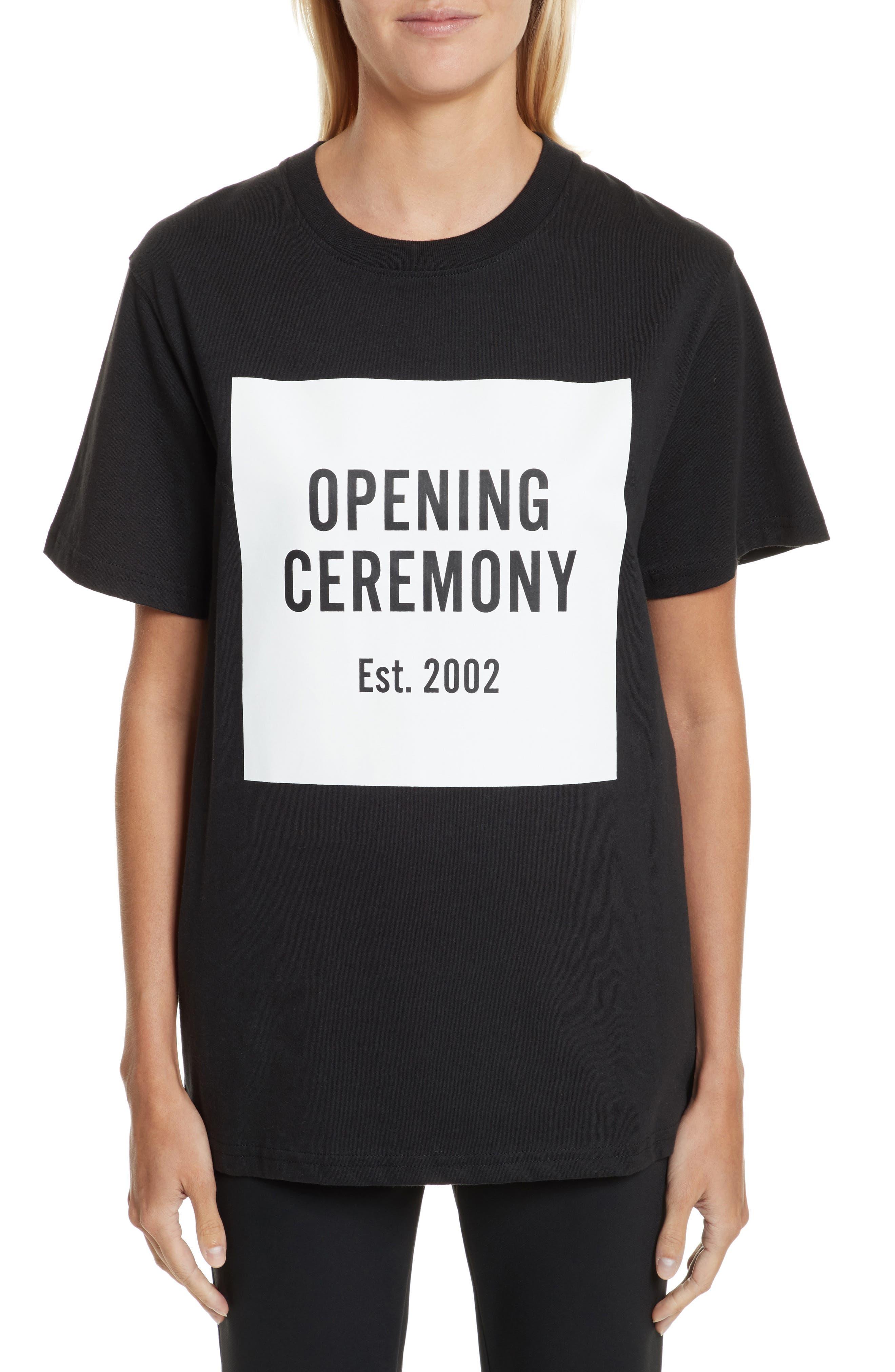 Opening Ceremony 'OC Logo' Short Sleeve T-Shirt