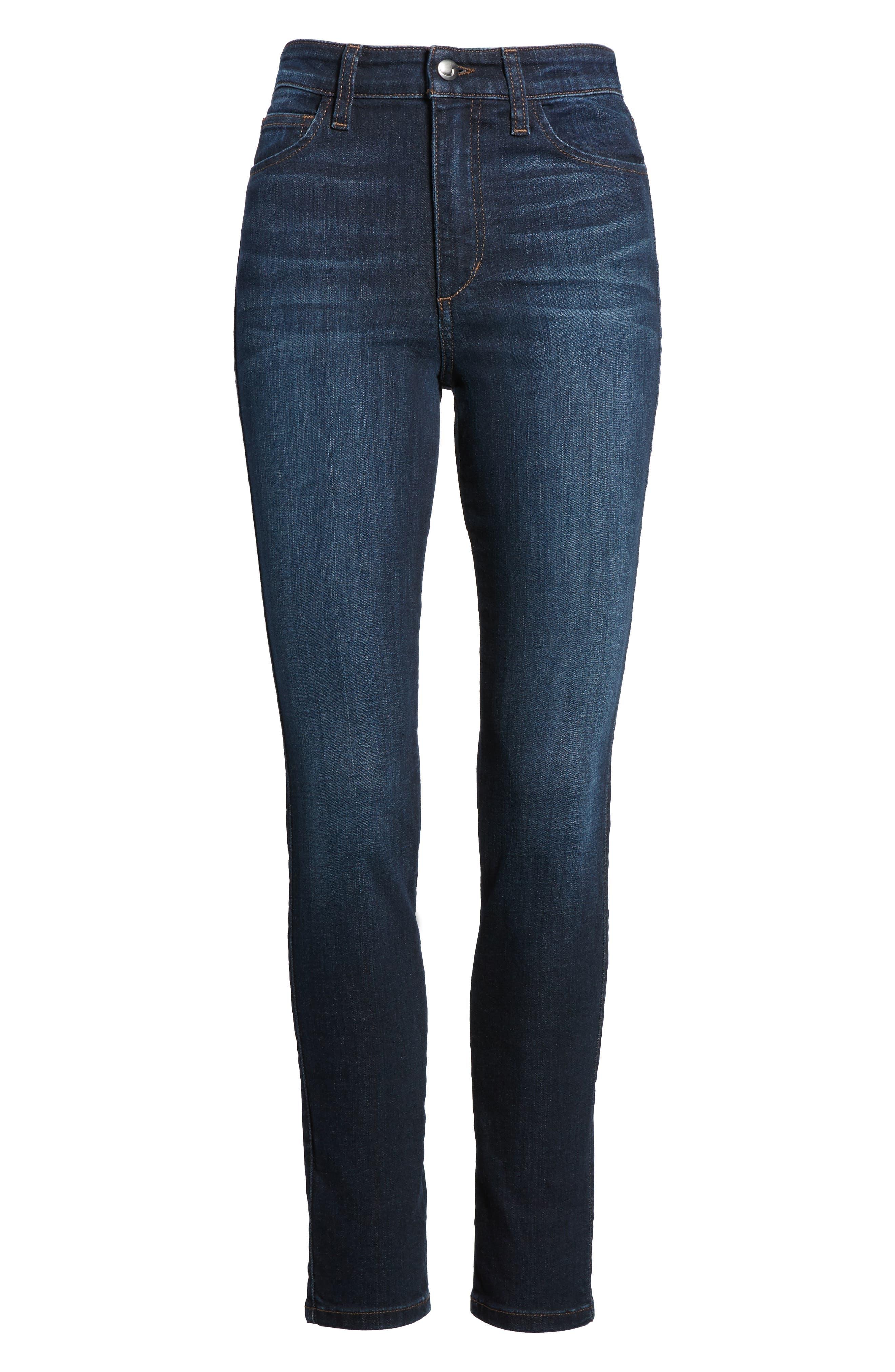 Charlie High Waist Skinny Jeans,                             Alternate thumbnail 6, color,                             Narissa