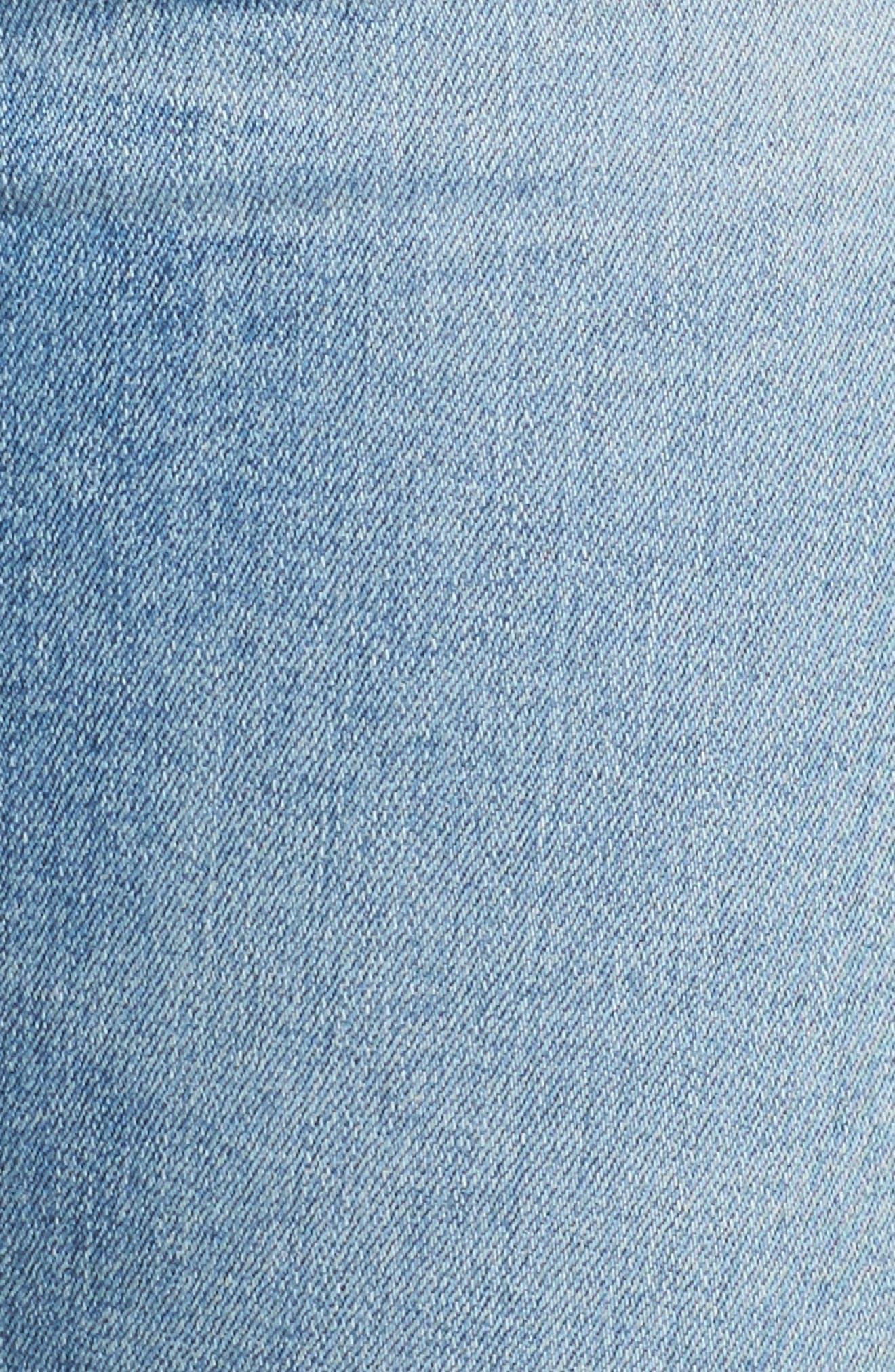 The Farrah High Waist Ankle Skinny Jeans,                             Alternate thumbnail 6, color,                             18 Years Cruising