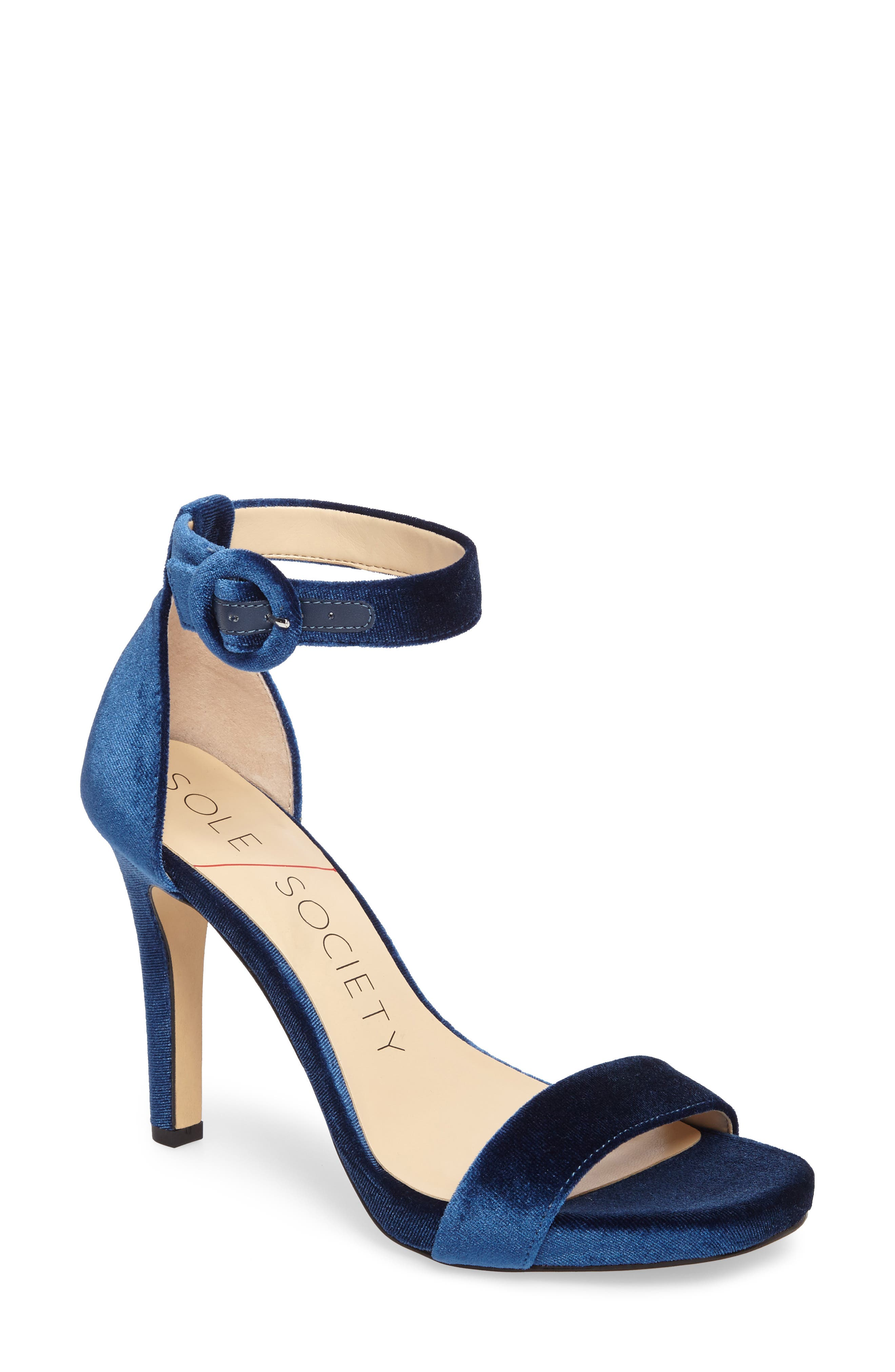 Alternate Image 1 Selected - Sole Society Emelia Ankle Strap Sandal (Women)