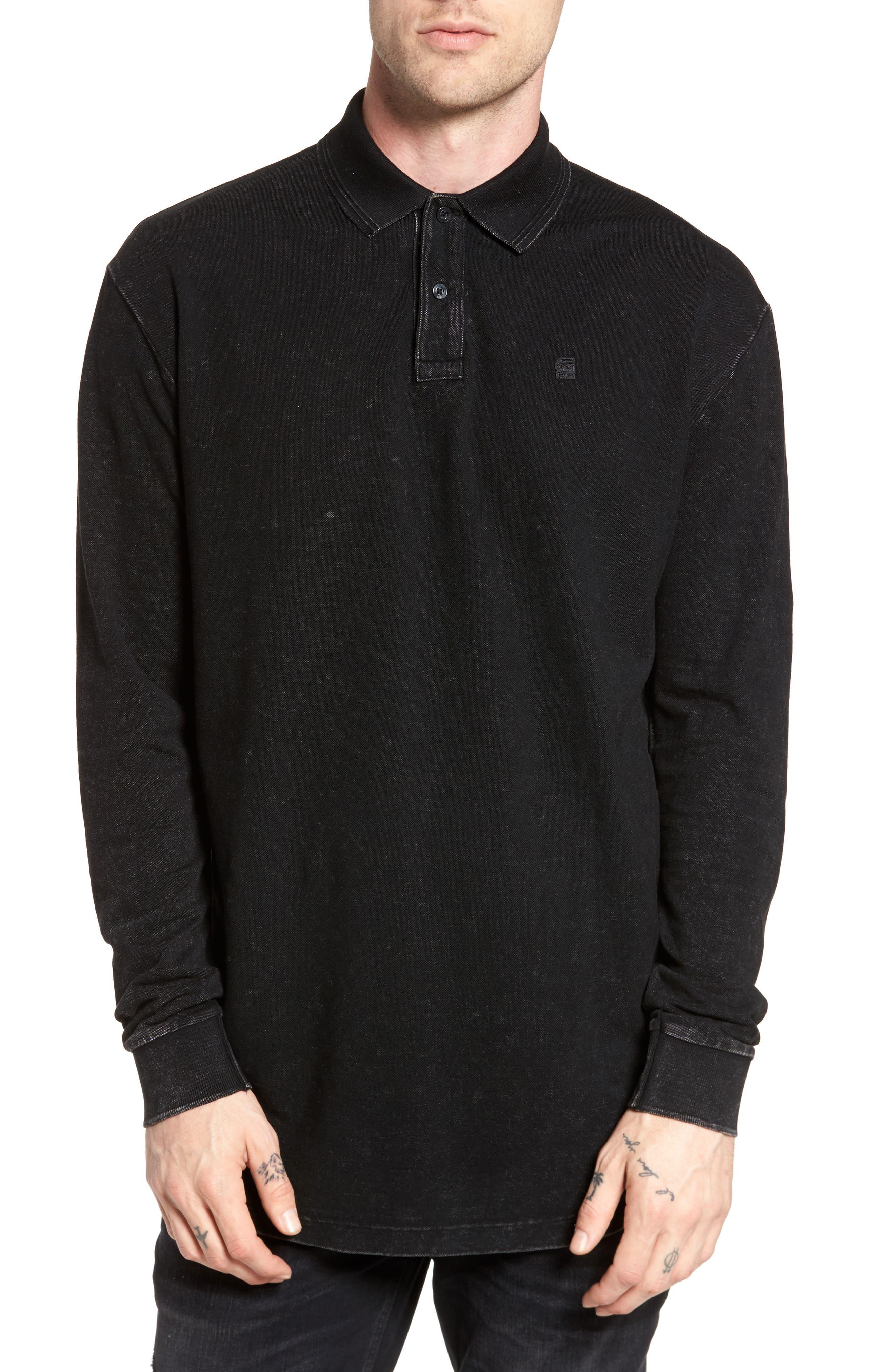 Starkon Polo,                         Main,                         color, Dark Black