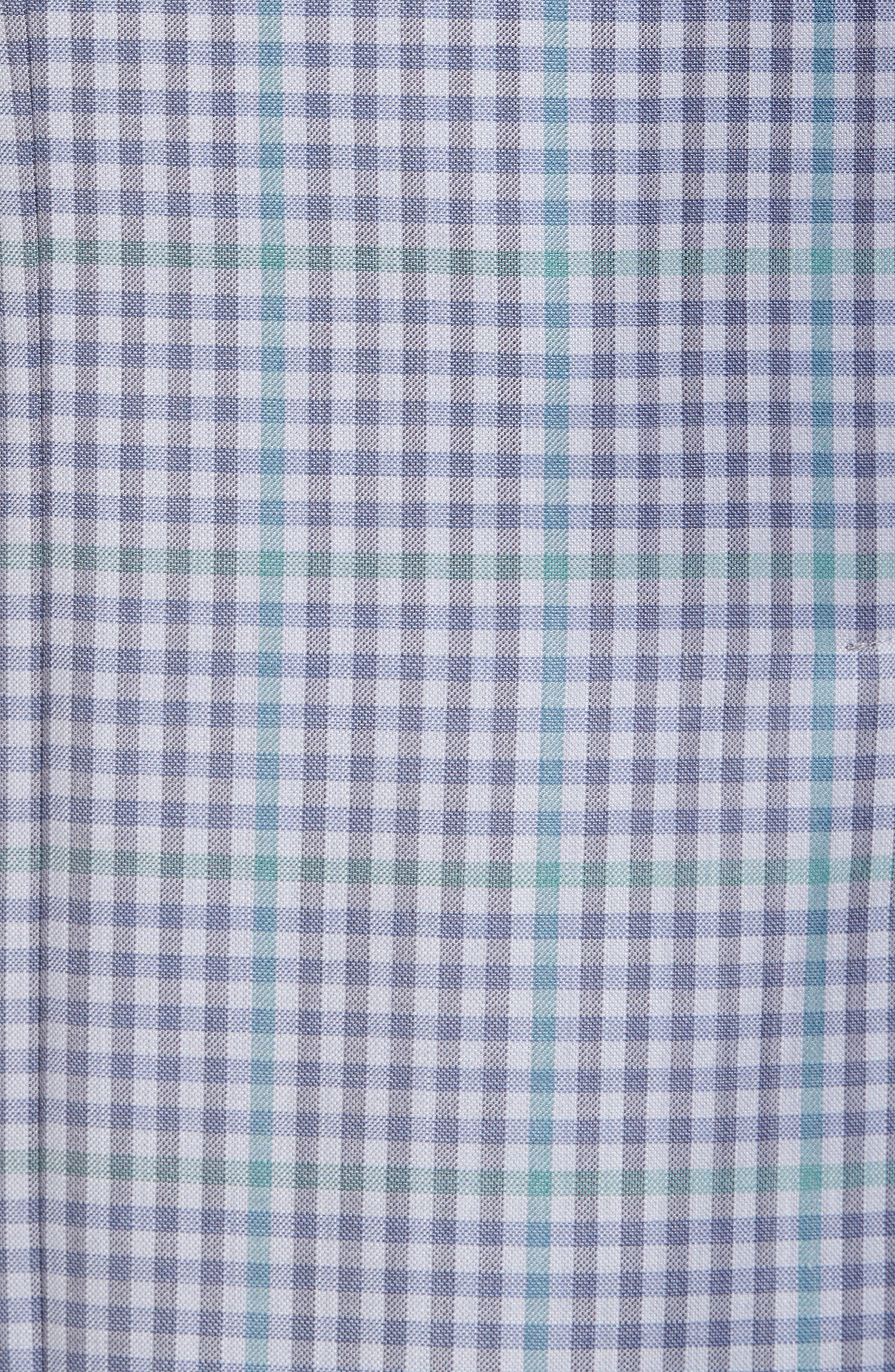 Konan Trim Fit Check Wool Sport Coat,                             Alternate thumbnail 5, color,                             Blue Grey Green Ck