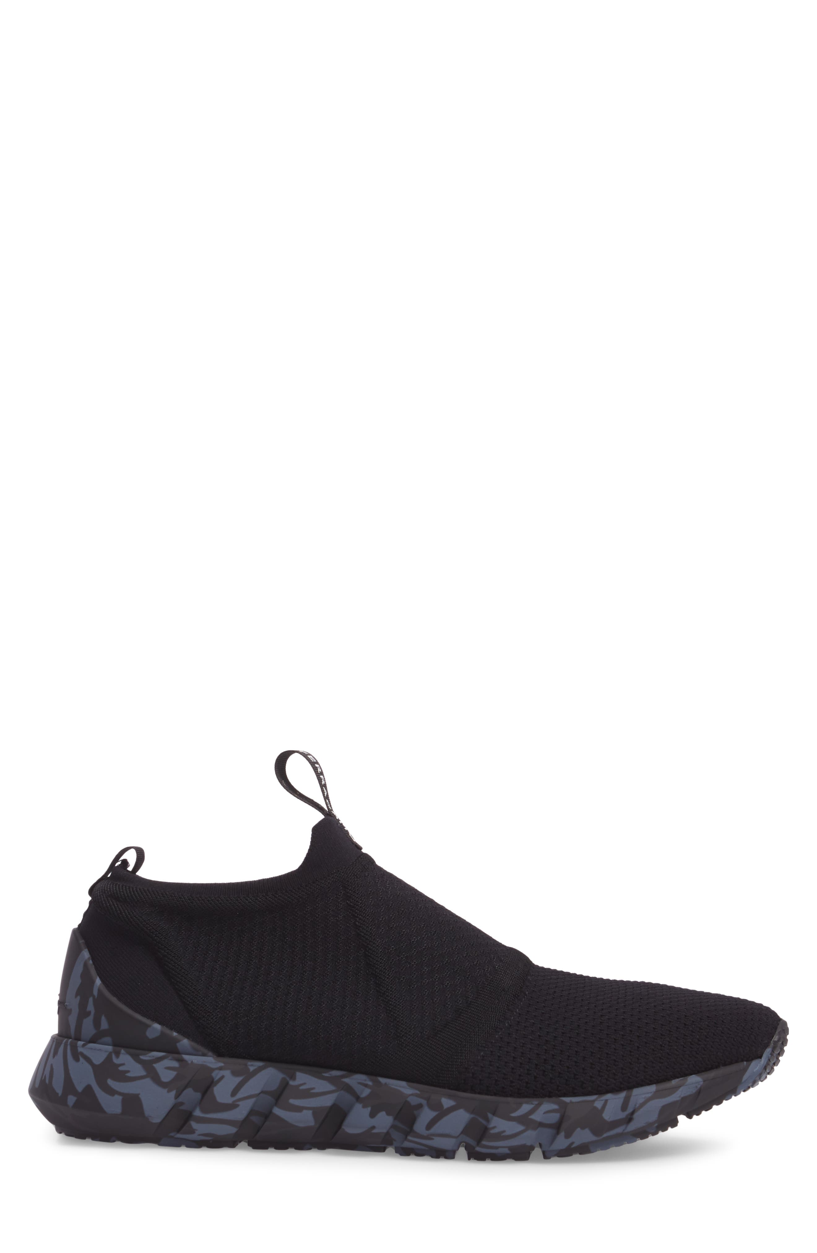 Cary Slip-On,                             Alternate thumbnail 3, color,                             Nero