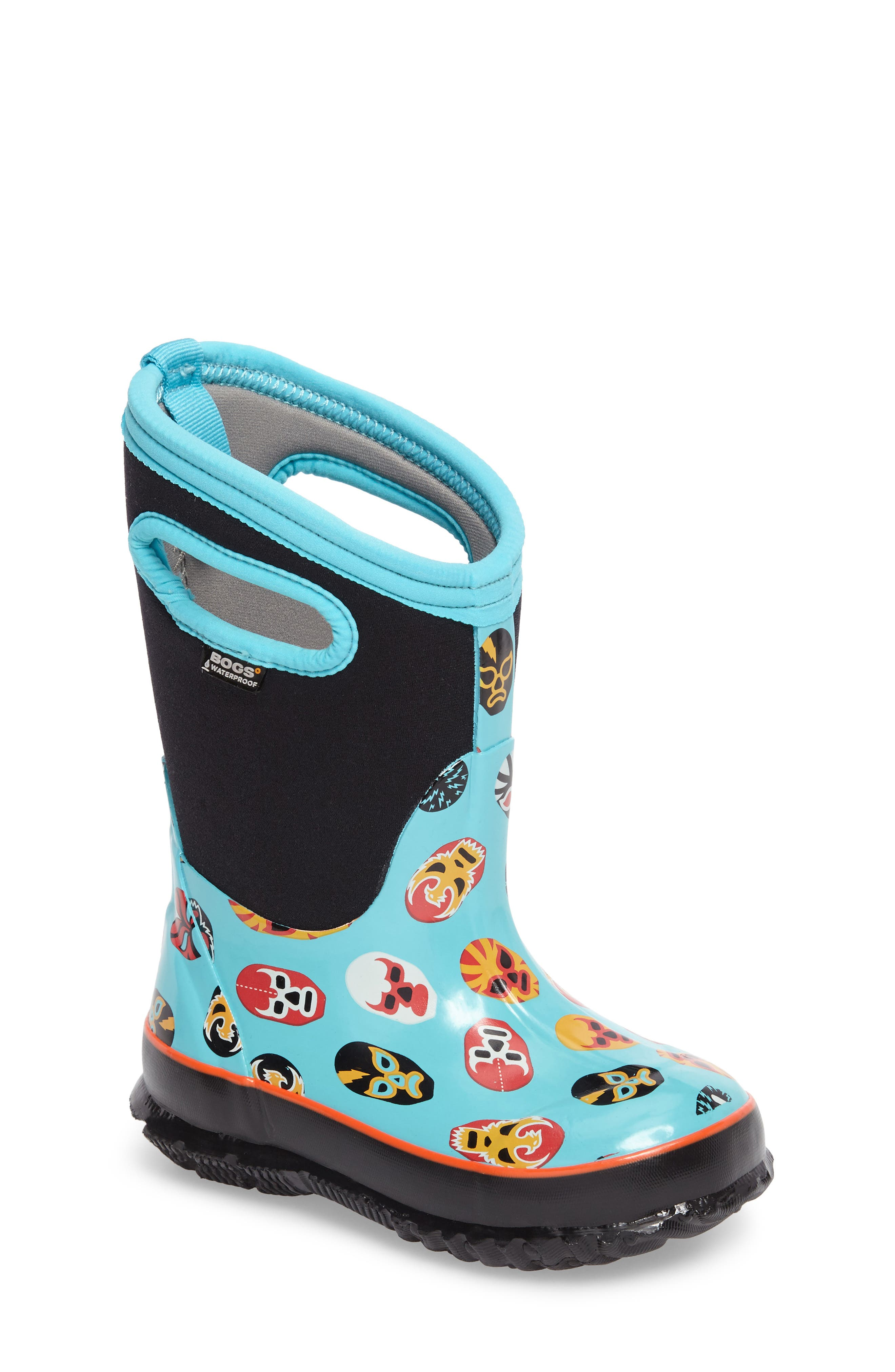 Alternate Image 1 Selected - Bogs Classic Mask Insulated Waterproof Boot (Toddler, Little Kid & Big Kid)