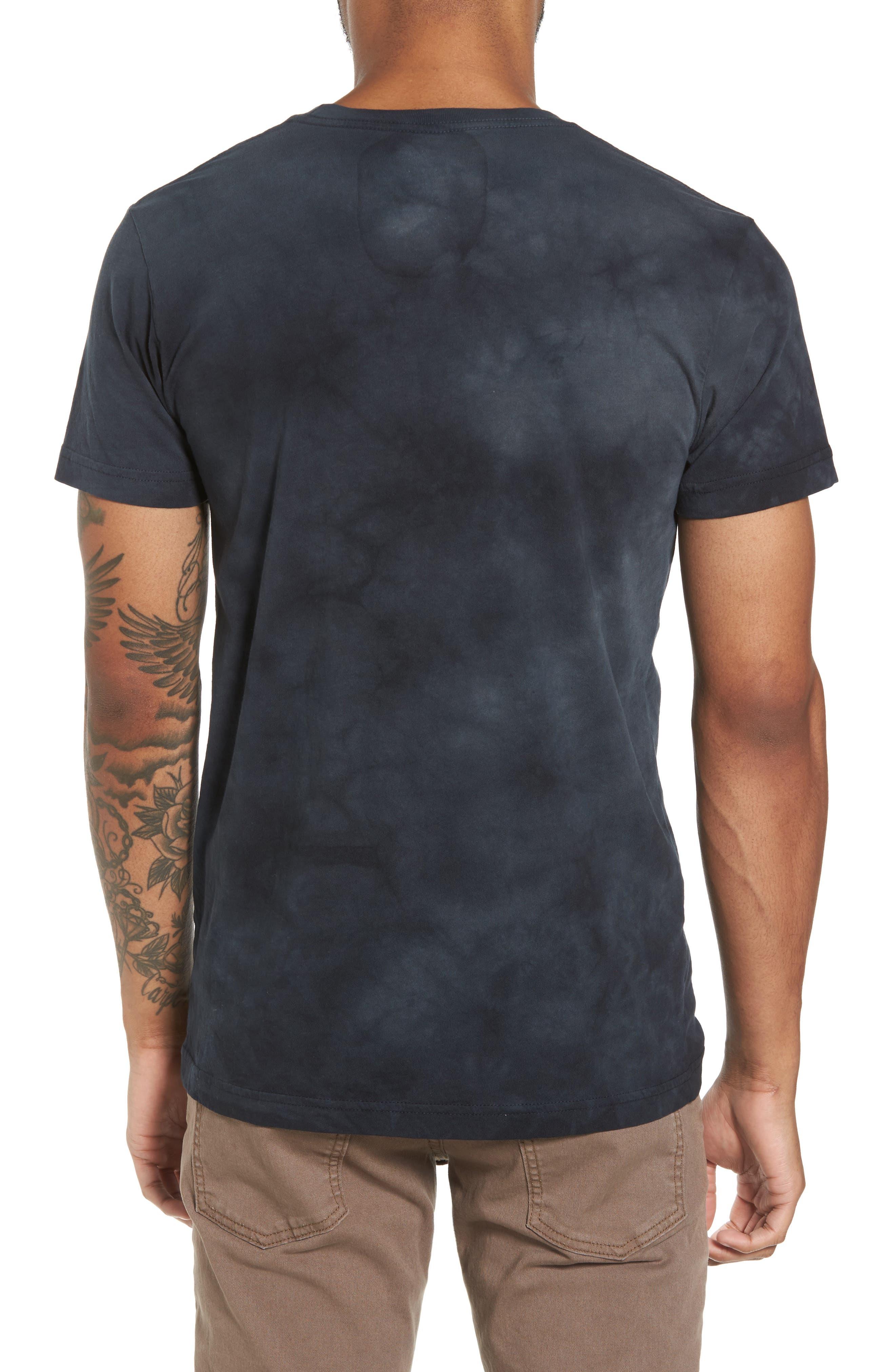 Wild Side Graphic T-Shirt,                             Alternate thumbnail 2, color,                             Black