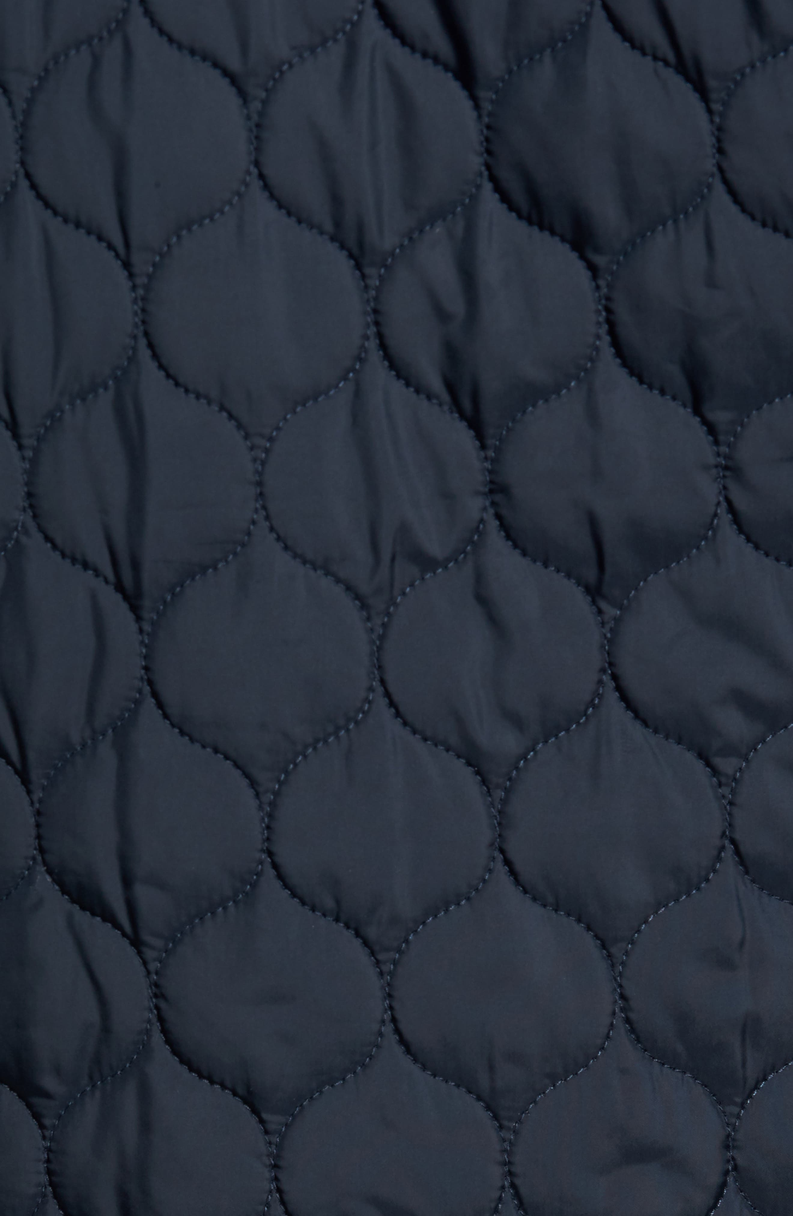 Lightweight Onion Quilted Jacket,                             Alternate thumbnail 5, color,                             Dark Sapphire