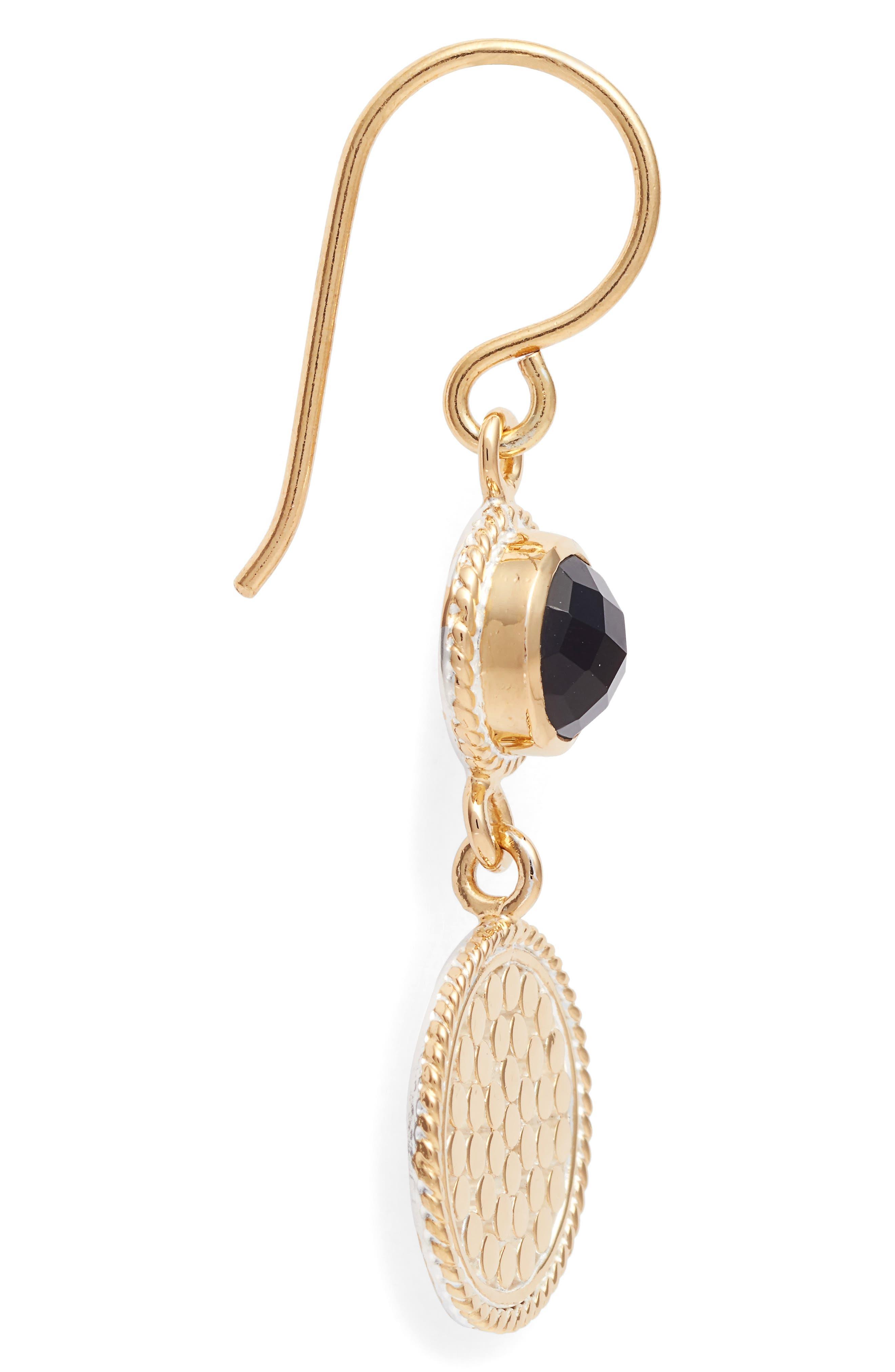 Alternate Image 4  - Anna Beck Semiprecious Stone Double Drop Earrings