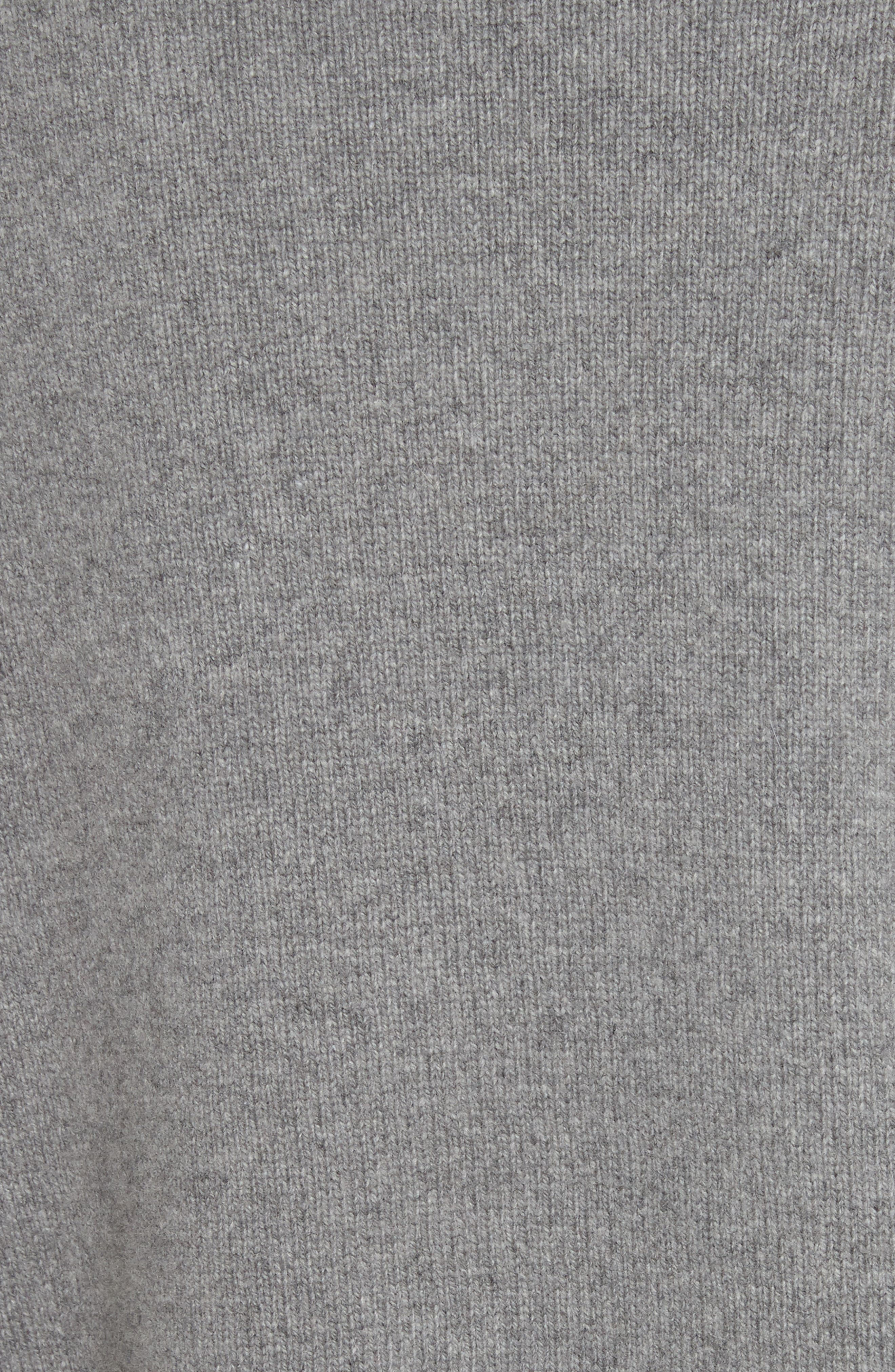 Heart Wool & Cashmere Sweater,                             Alternate thumbnail 5, color,                             Grey