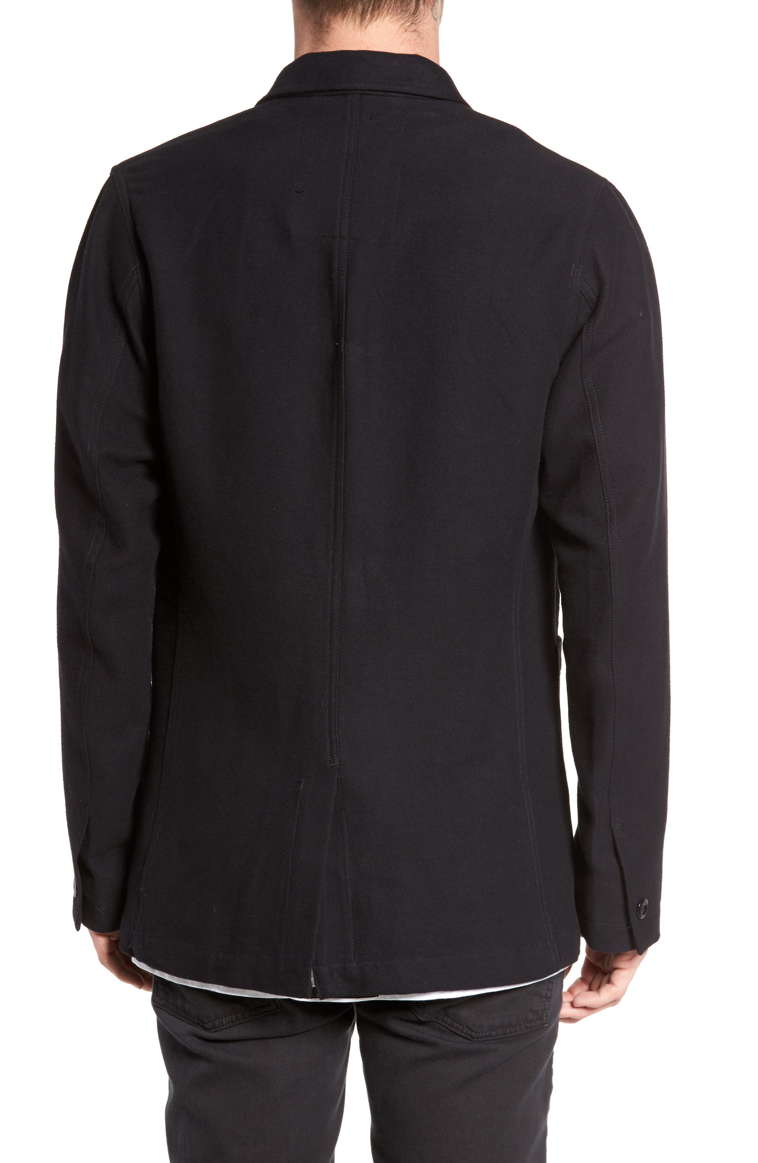 Bronson Worker Blazer,                             Alternate thumbnail 2, color,                             Black