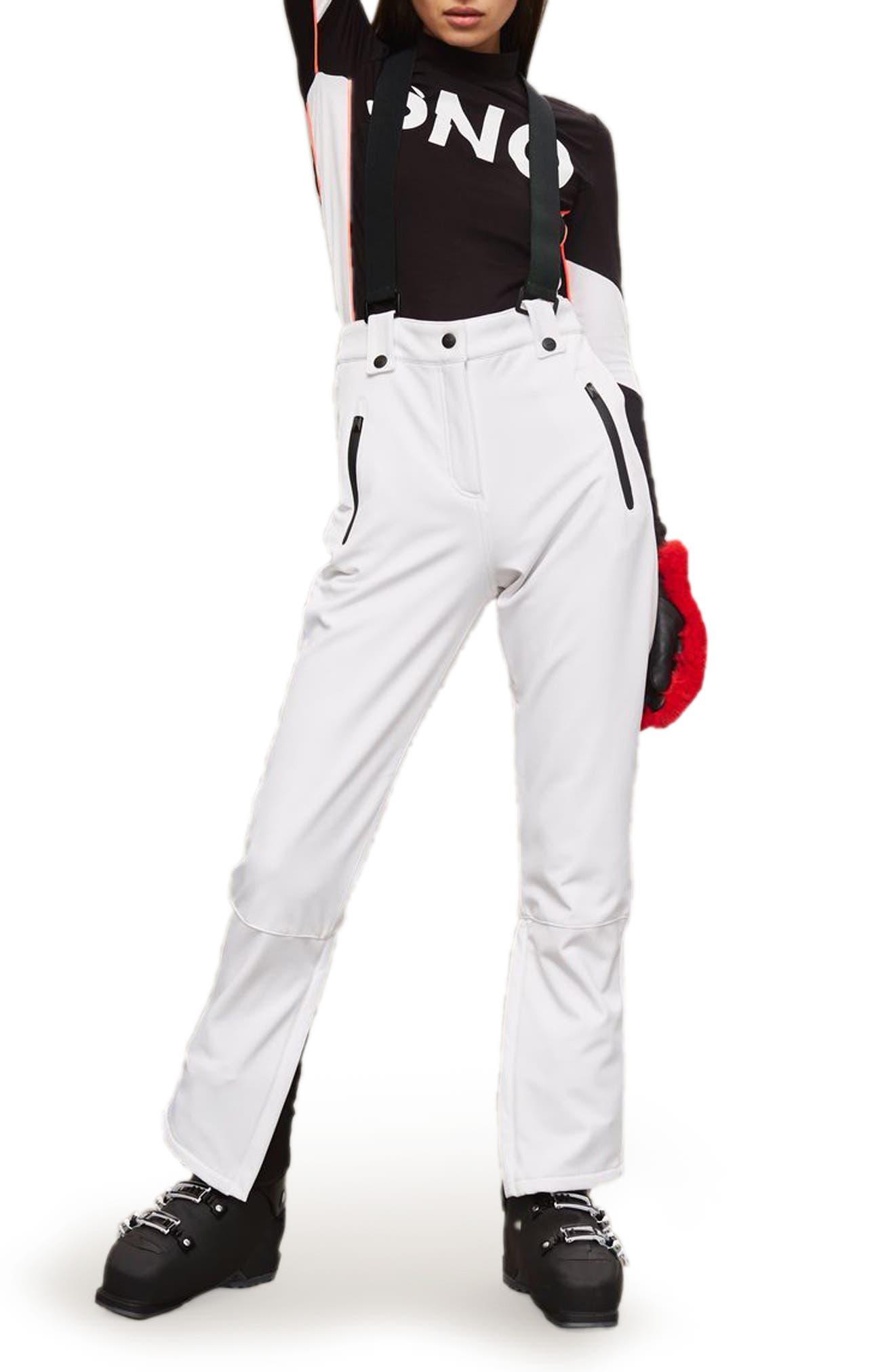 Topshop SNO Ace Suspender Ski Pants