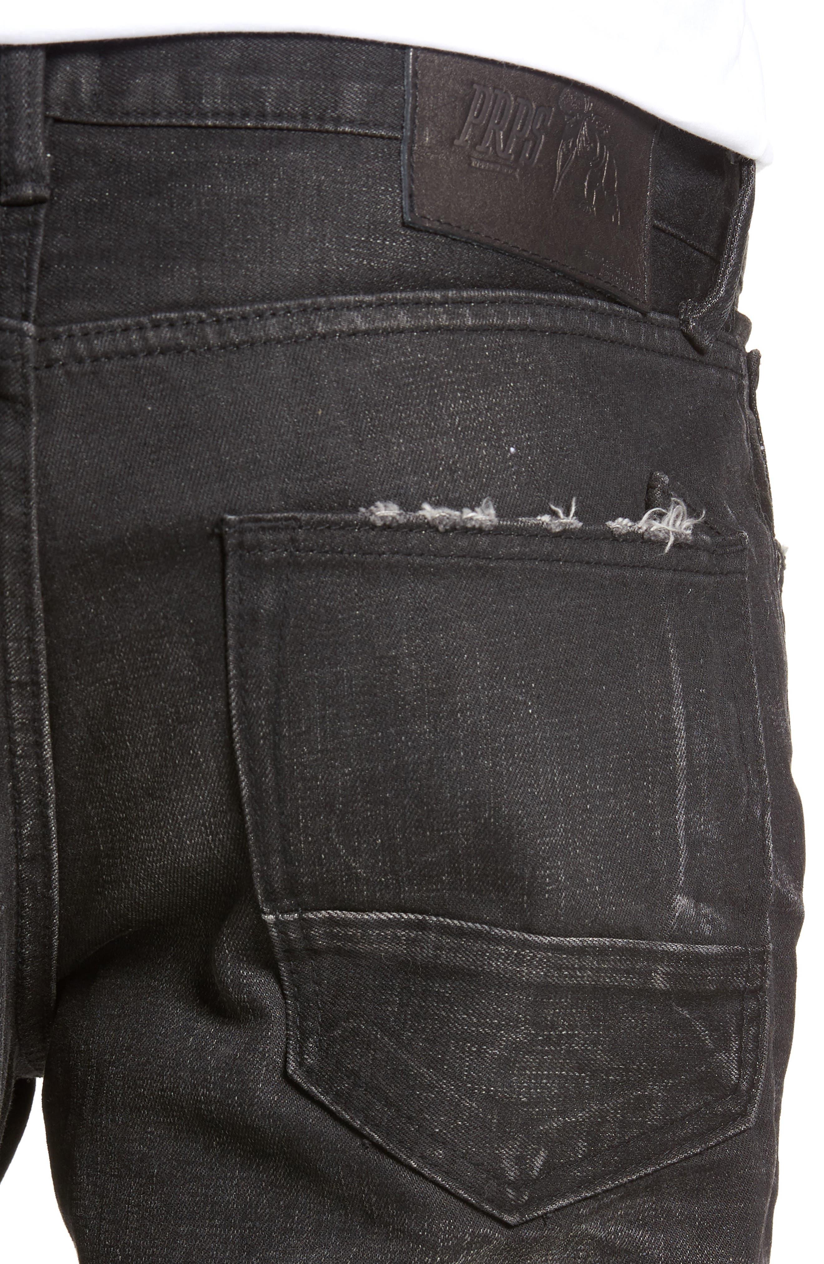 Slim Straight Leg Jeans,                             Alternate thumbnail 4, color,                             Sternum