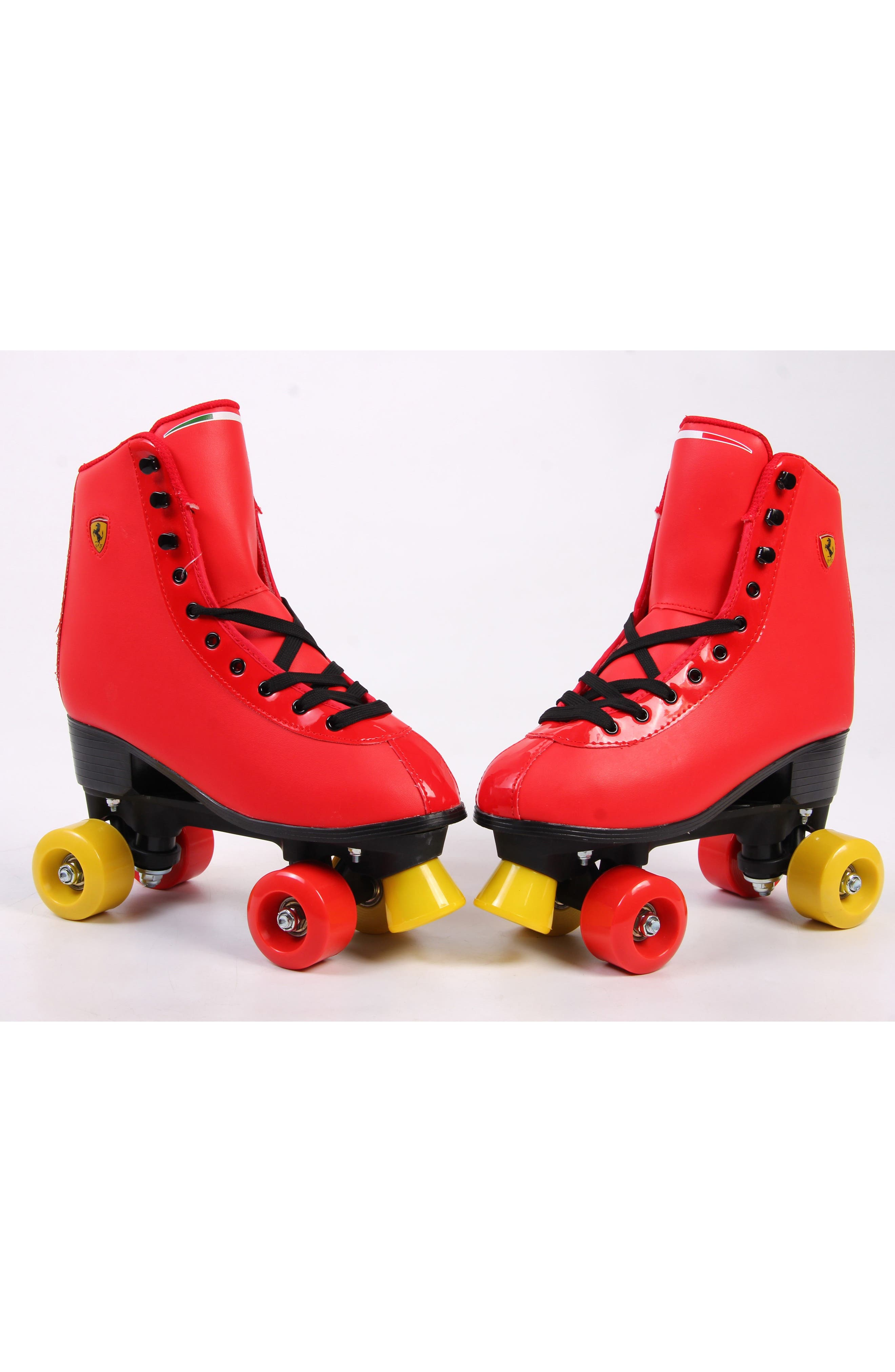 Classic Roller Skates,                             Alternate thumbnail 7, color,                             Ferrari Red