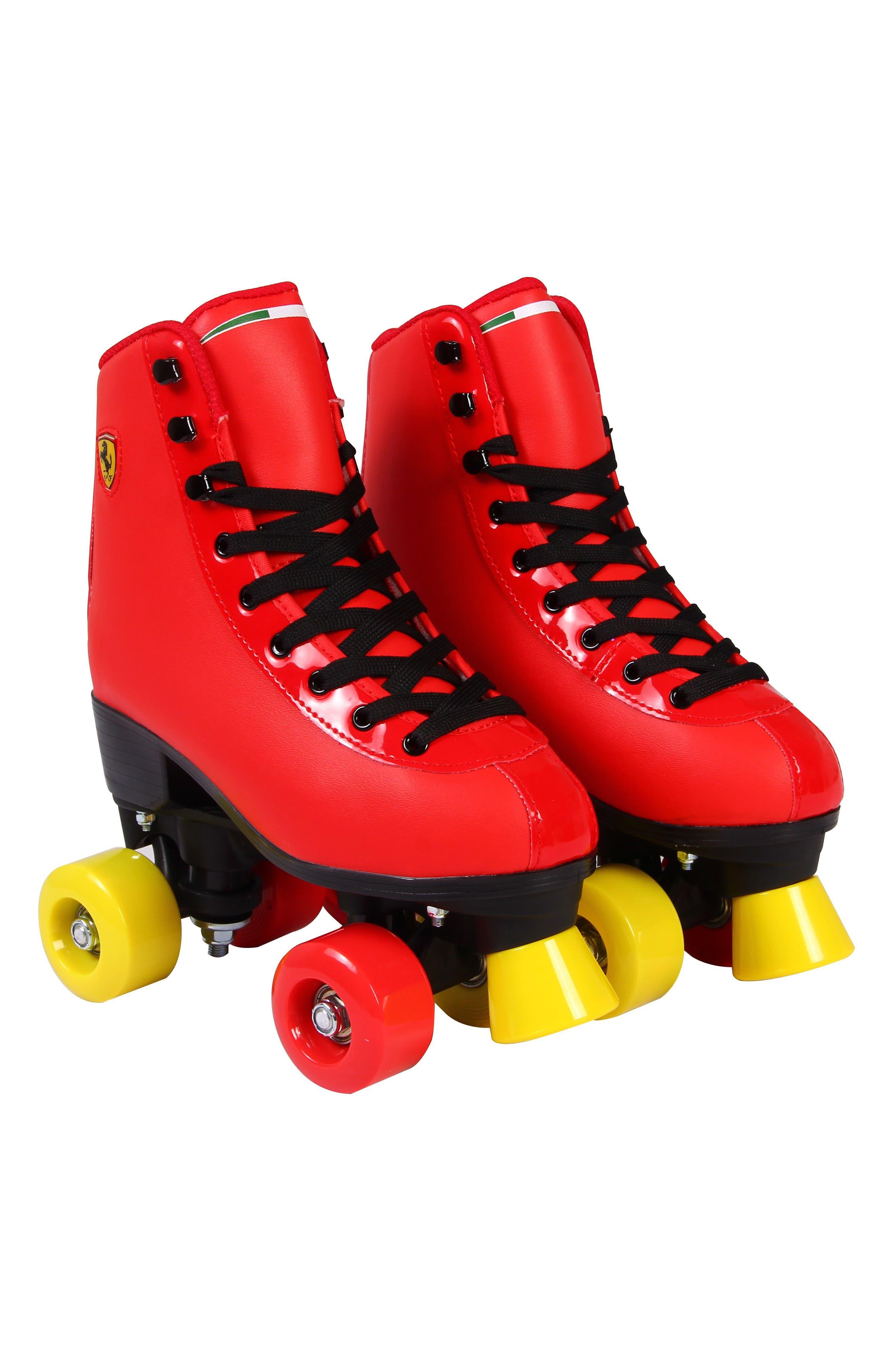 Classic Roller Skates,                             Main thumbnail 1, color,                             Ferrari Red