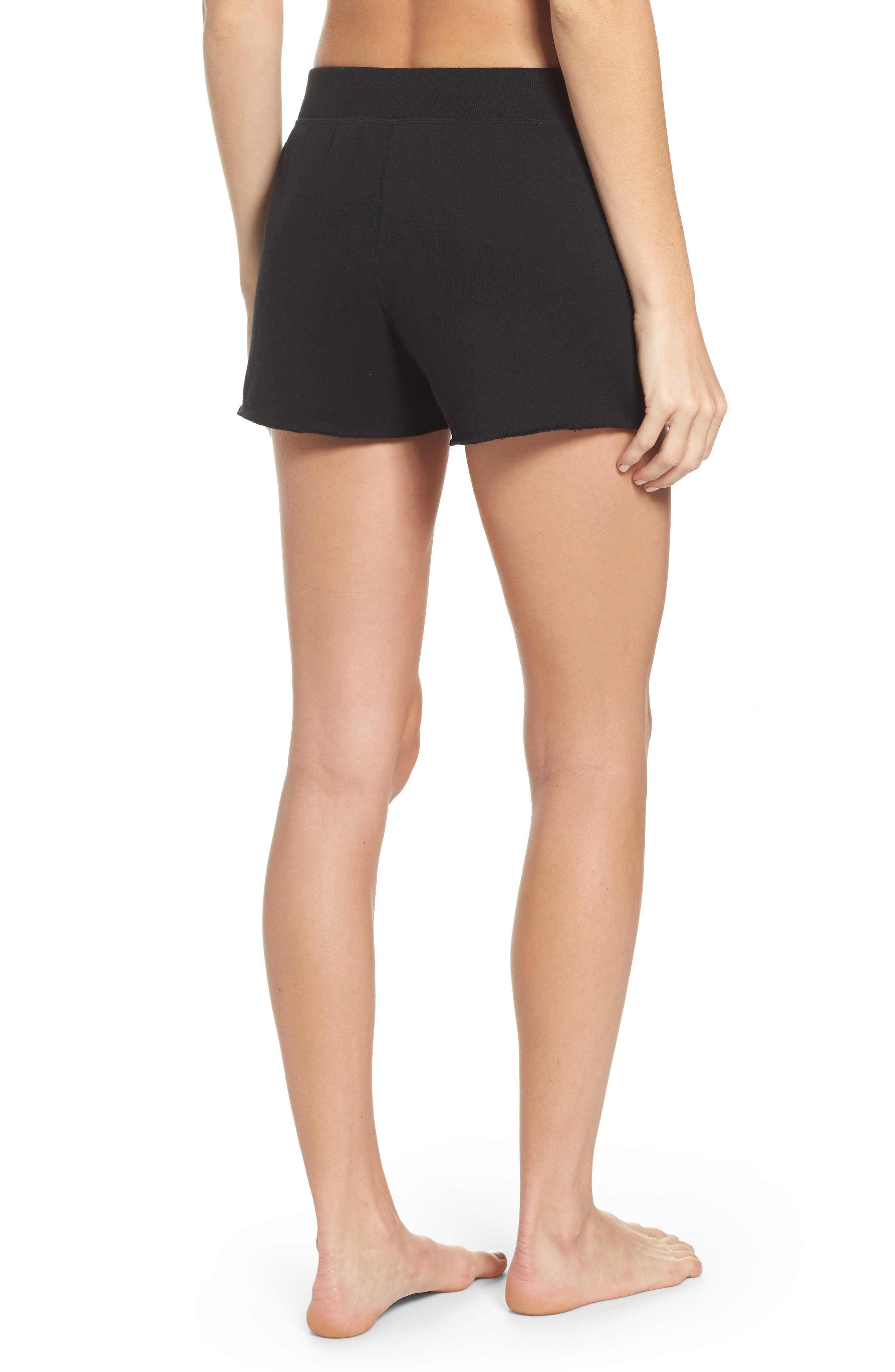 Slay Shorts,                             Alternate thumbnail 2, color,                             Black