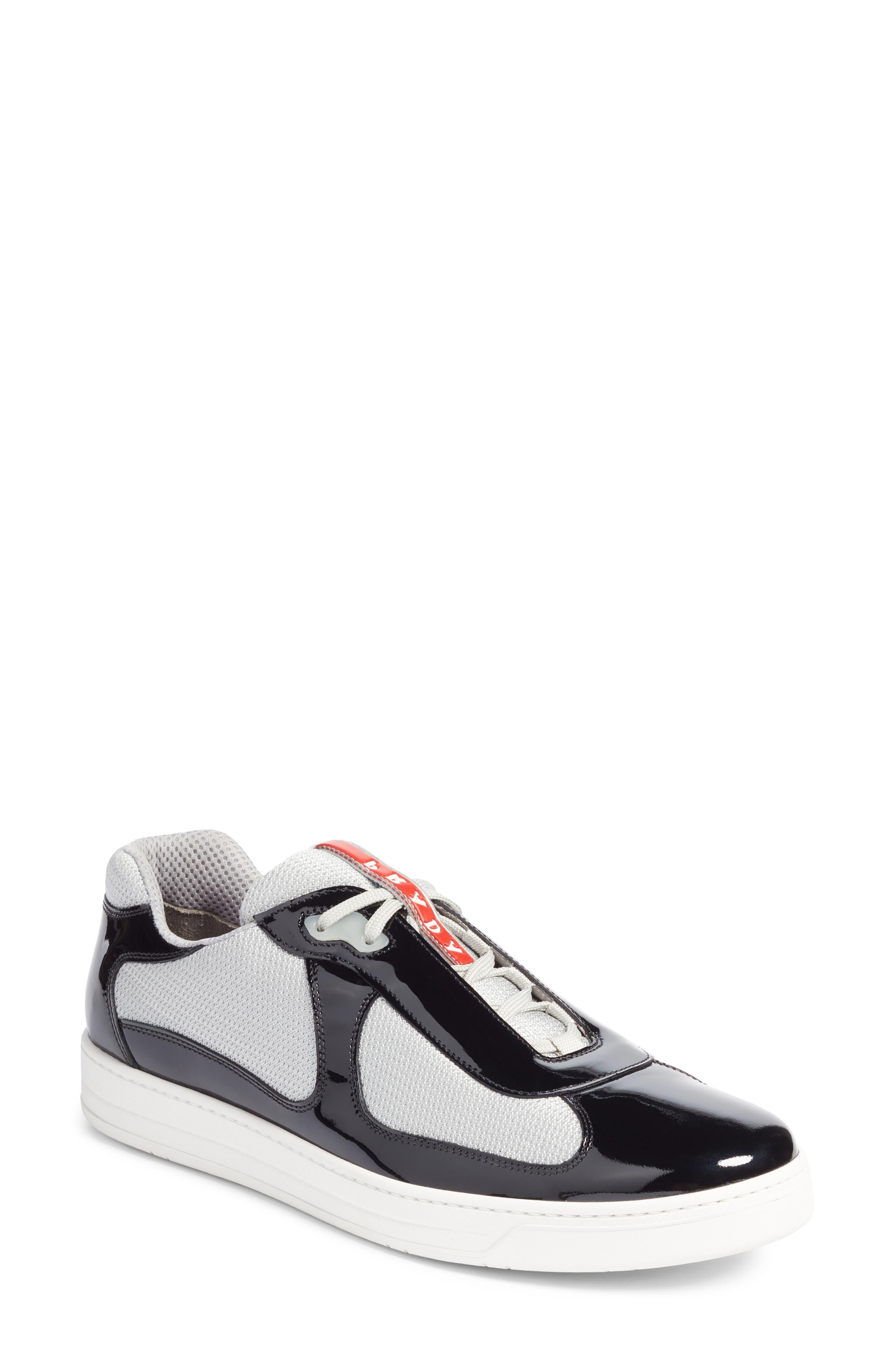 Linea Rossa New America's Cup Sneaker,                             Main thumbnail 1, color,                             Nero Argento