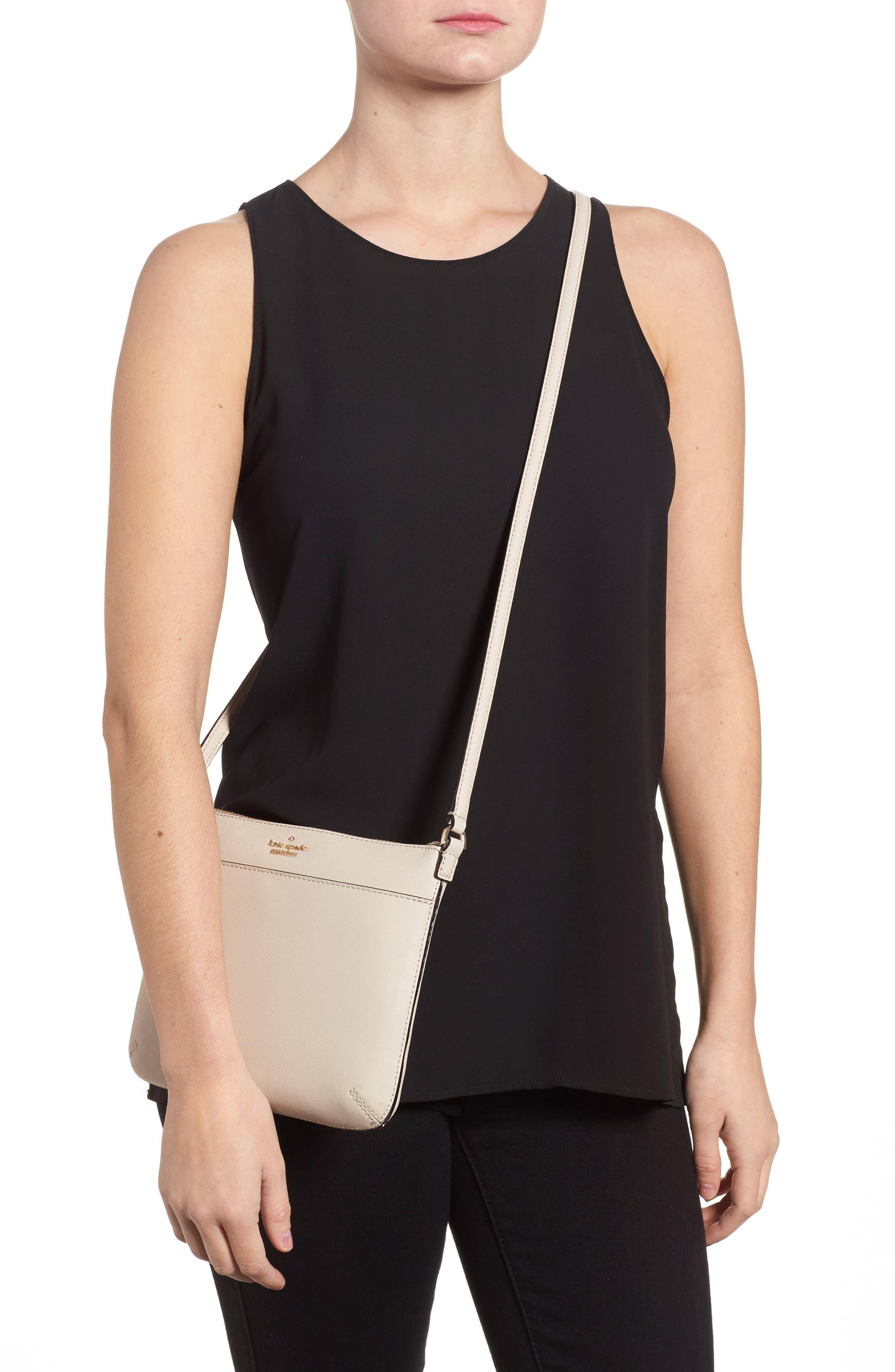 cameron street - tenley leather crossbody bag,                             Alternate thumbnail 2, color,                             Tusk