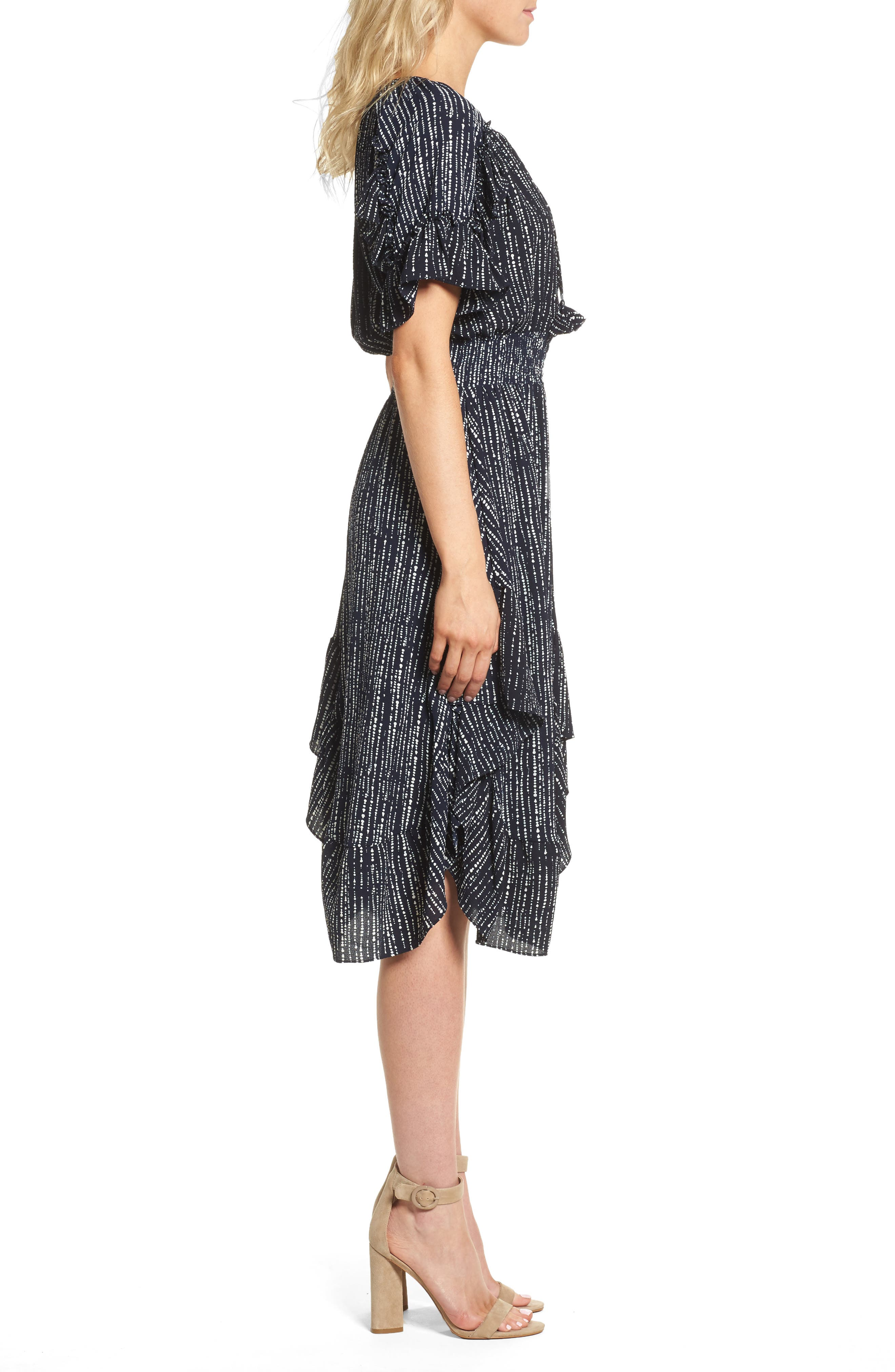 Alternate Image 3  - MISA Los Angeles Patricia High/Low Dress