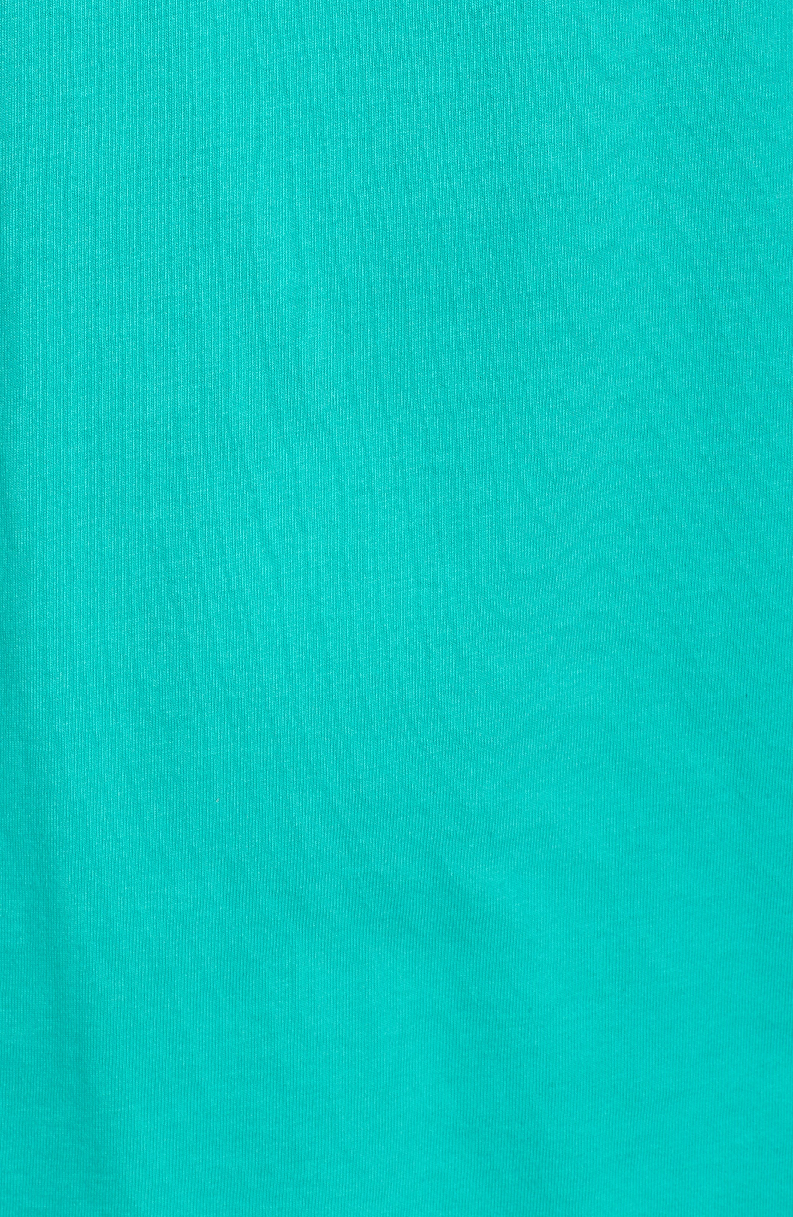 First Class Seat T-Shirt,                             Alternate thumbnail 5, color,                             Cave Green