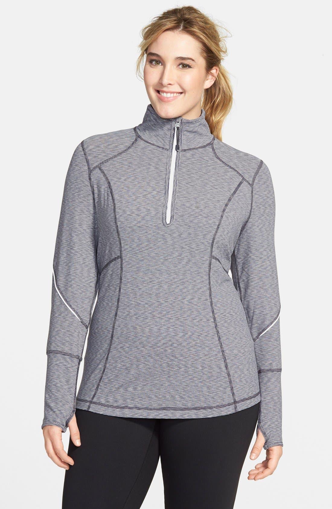 'My Run Layer 2' Cross Dye Jacket,                         Main,                         color, Grey Slate